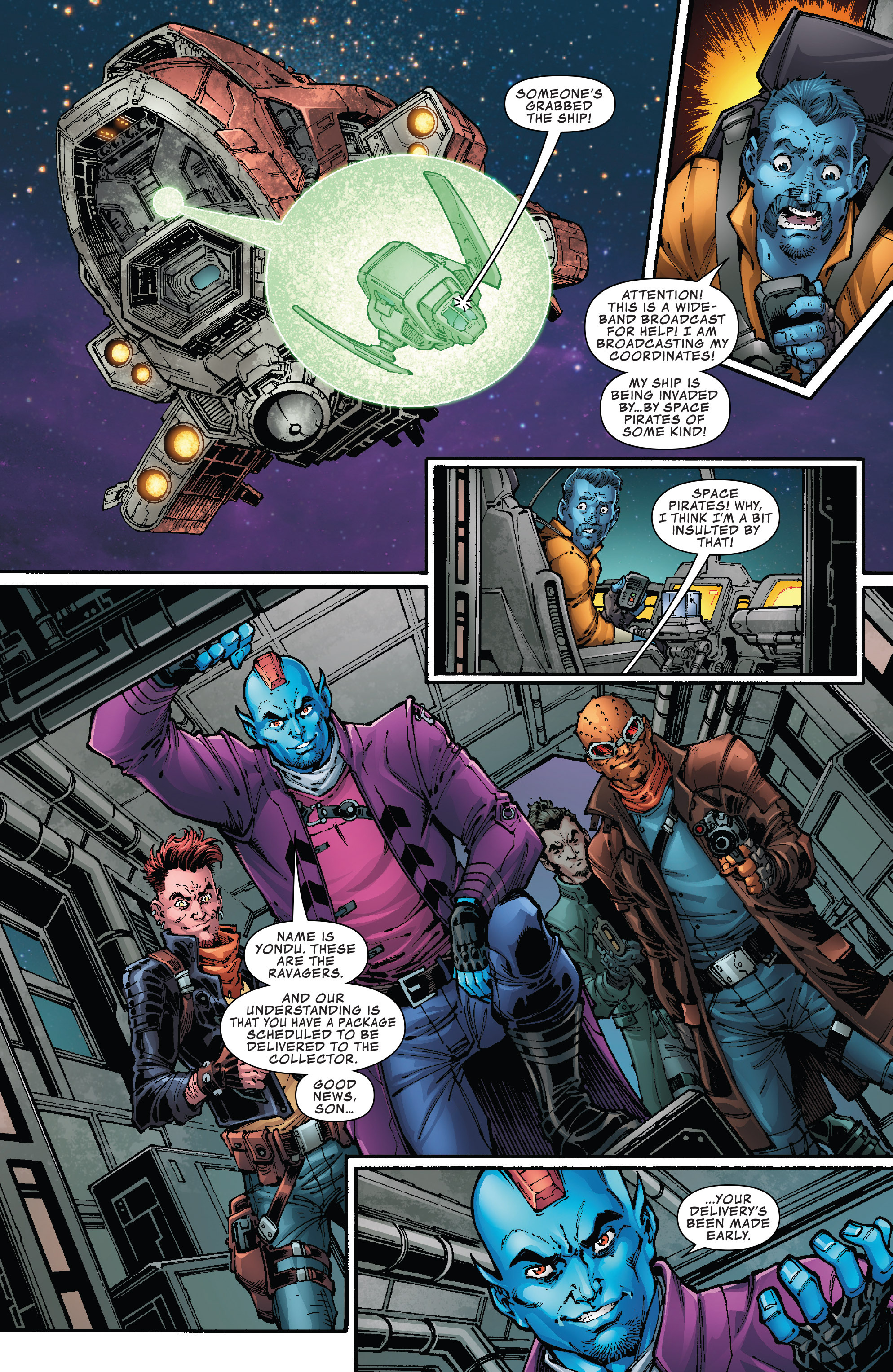 Read online Hi-Tech Heroes Presented By Hanes comic -  Issue # Full - 4