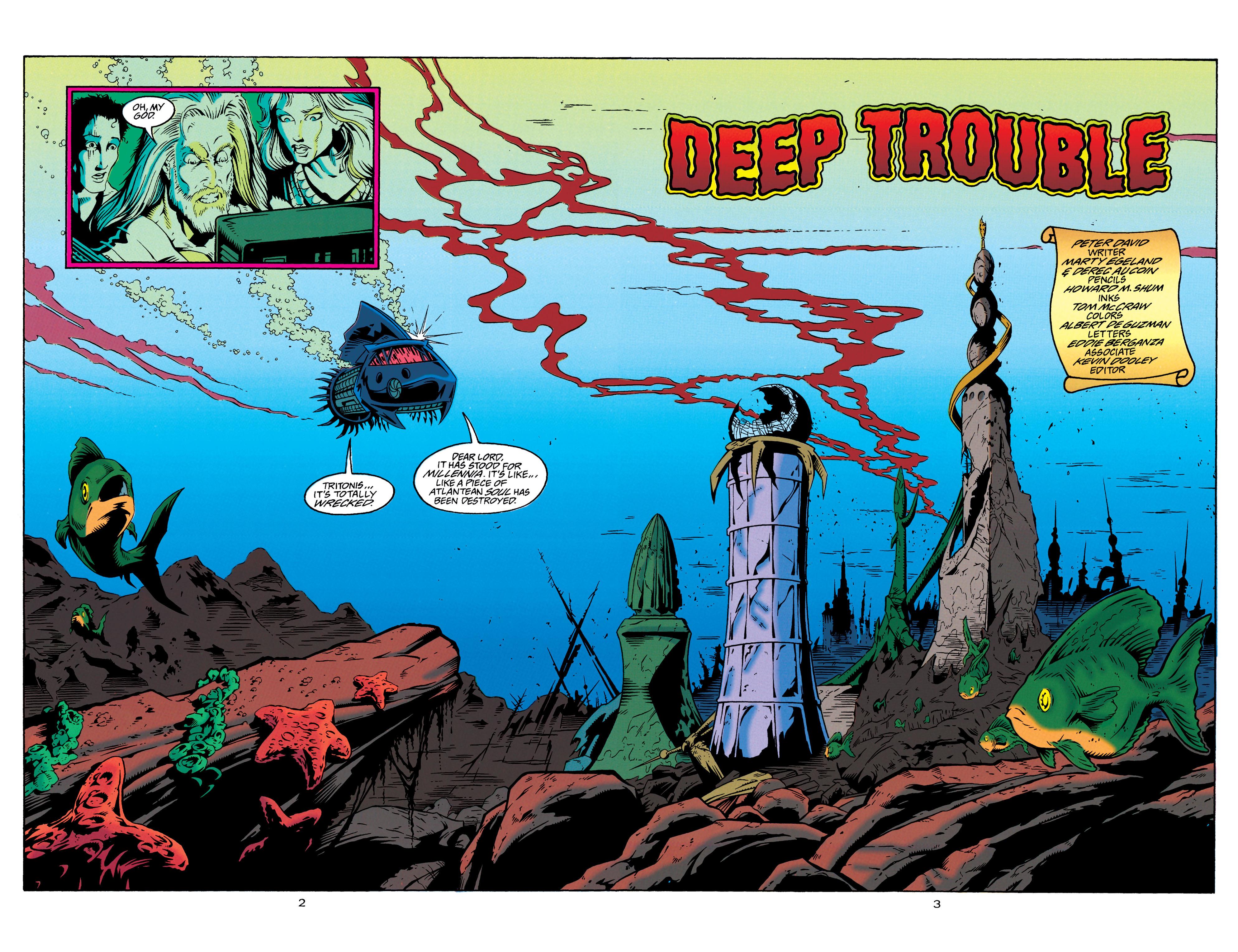 Read online Aquaman (1994) comic -  Issue #23 - 3