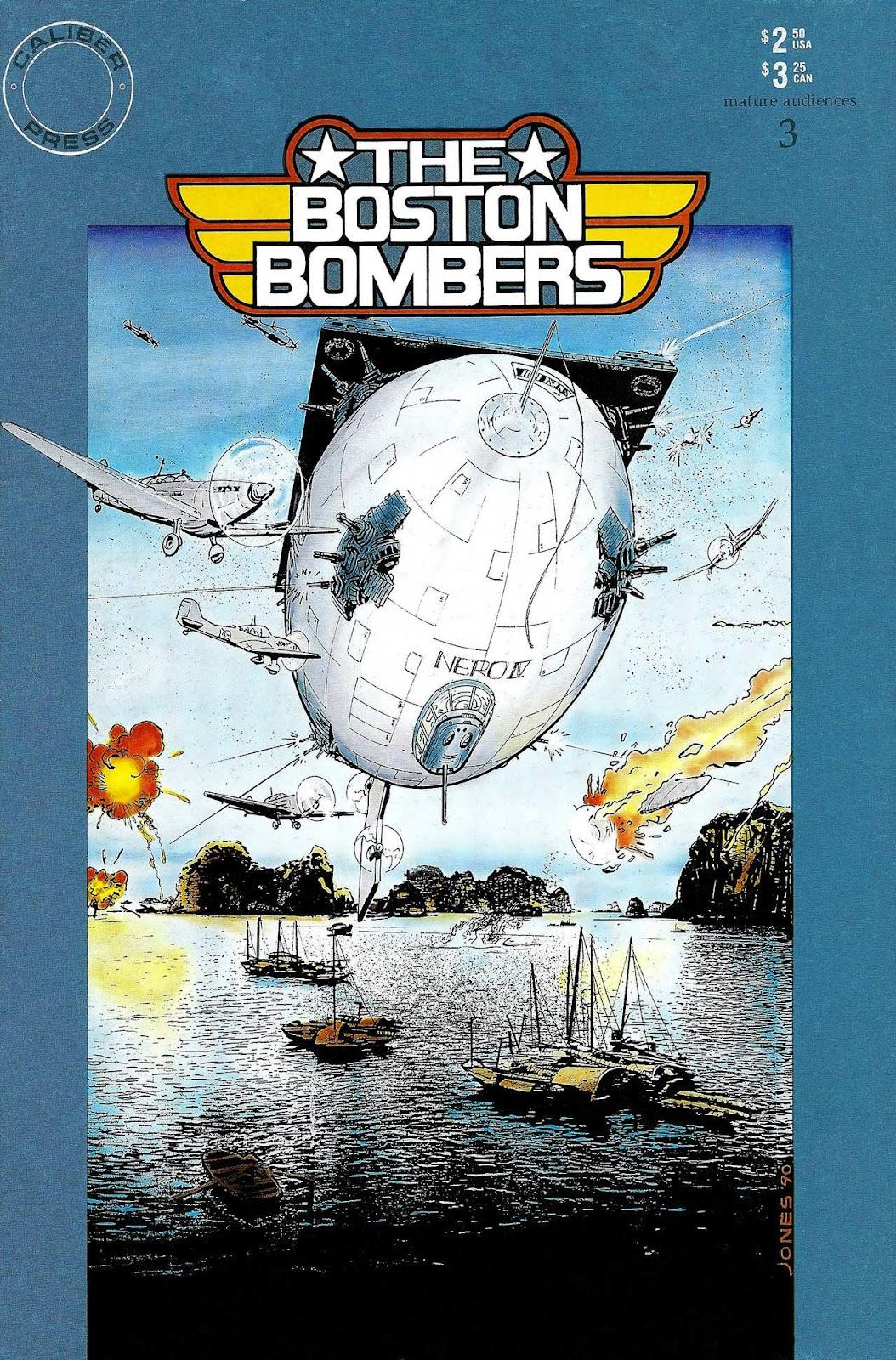Boston Bombers 3 Page 1