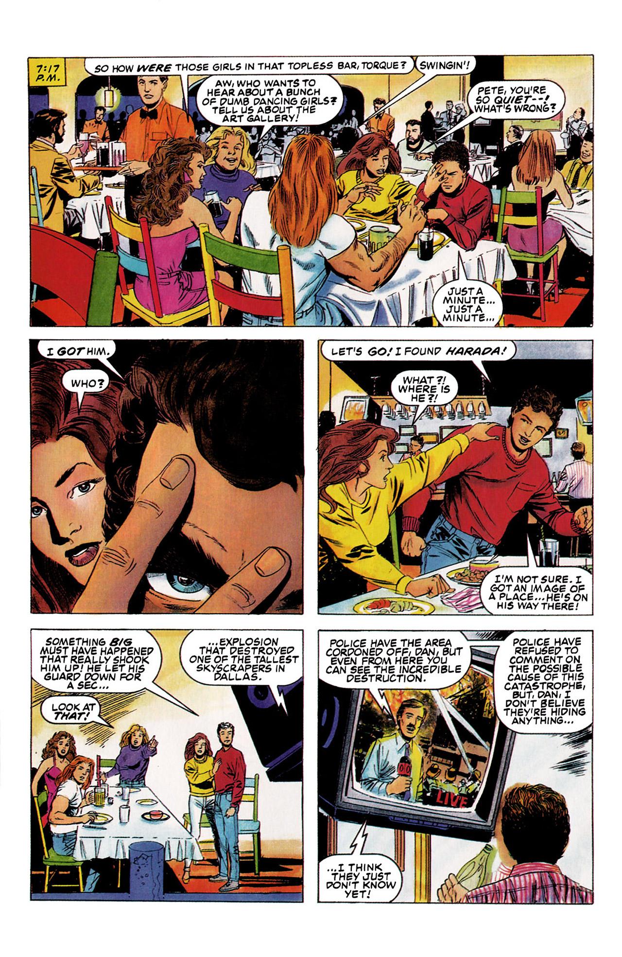 Read online Harbinger (1992) comic -  Issue #5 - 7