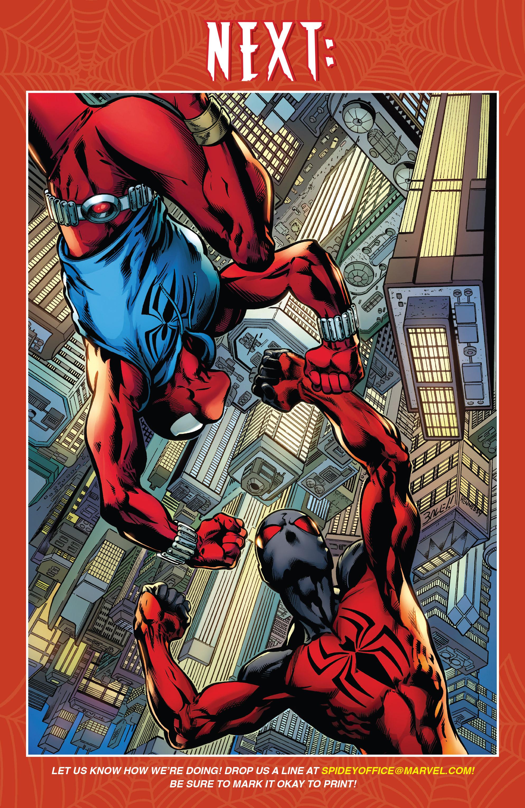 Read online Ben Reilly: Scarlet Spider comic -  Issue #3 - 23