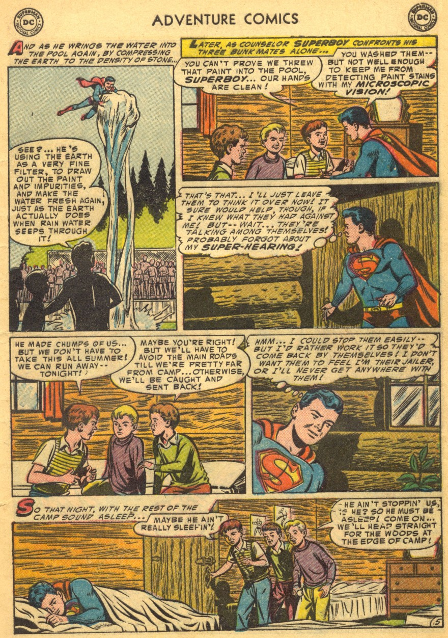 Read online Adventure Comics (1938) comic -  Issue #203 - 7