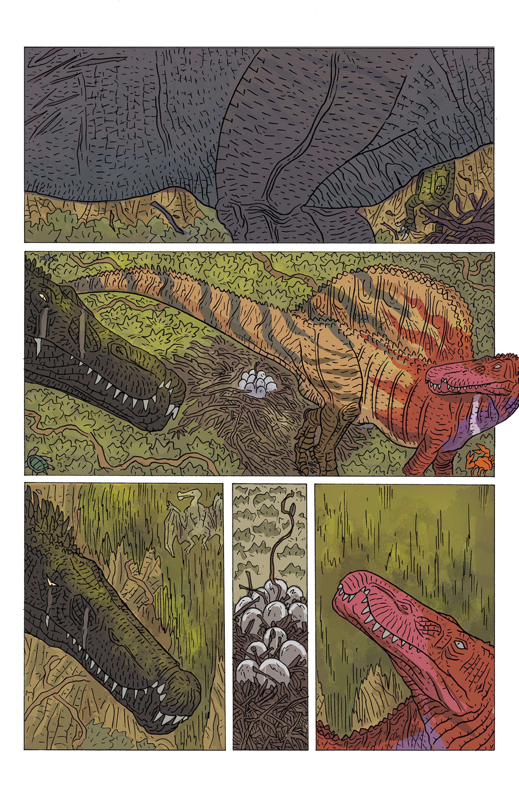 Read online Age of Reptiles: Ancient Egyptians comic -  Issue #4 - 22