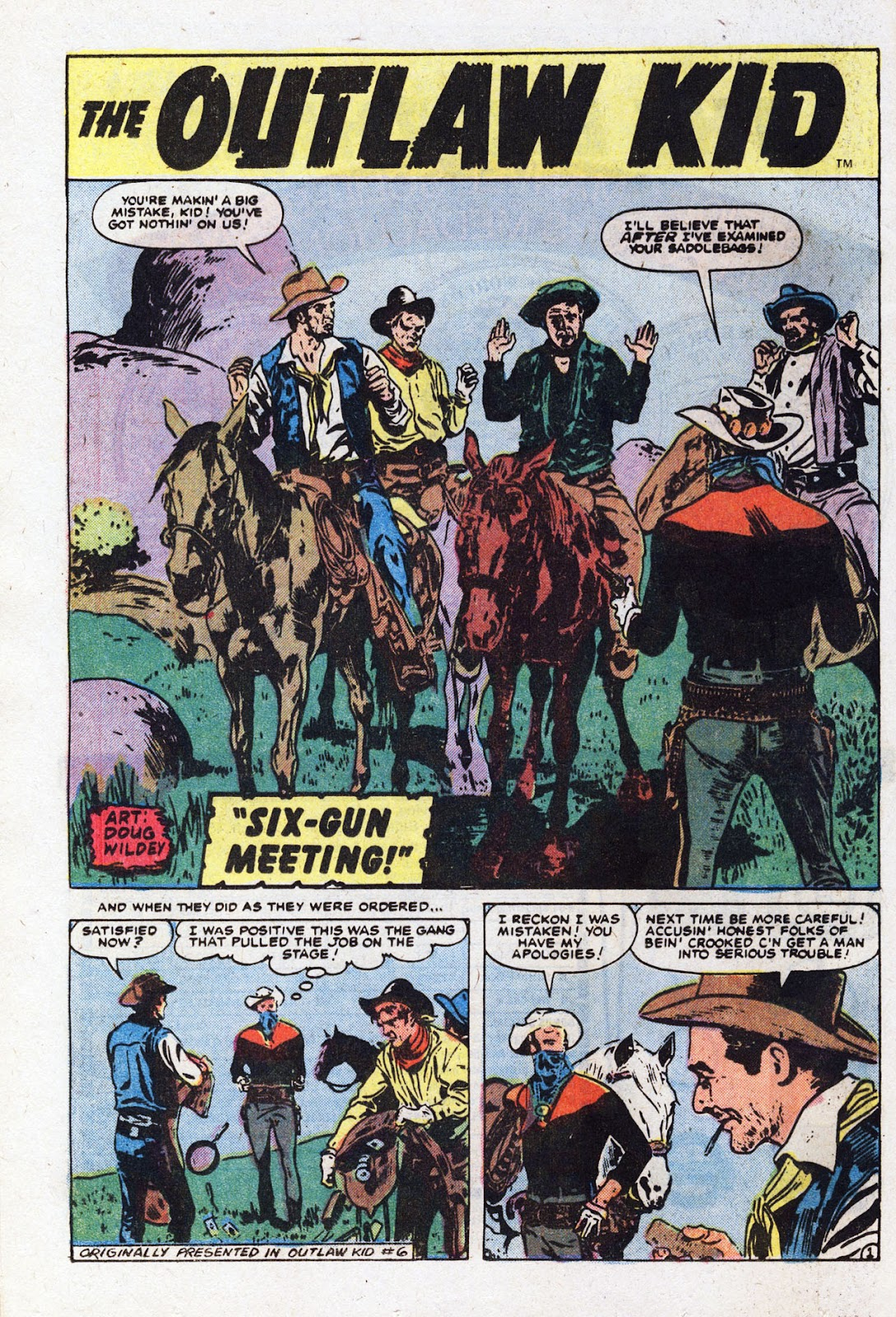 The Outlaw Kid (1970) issue 22 - Page 12