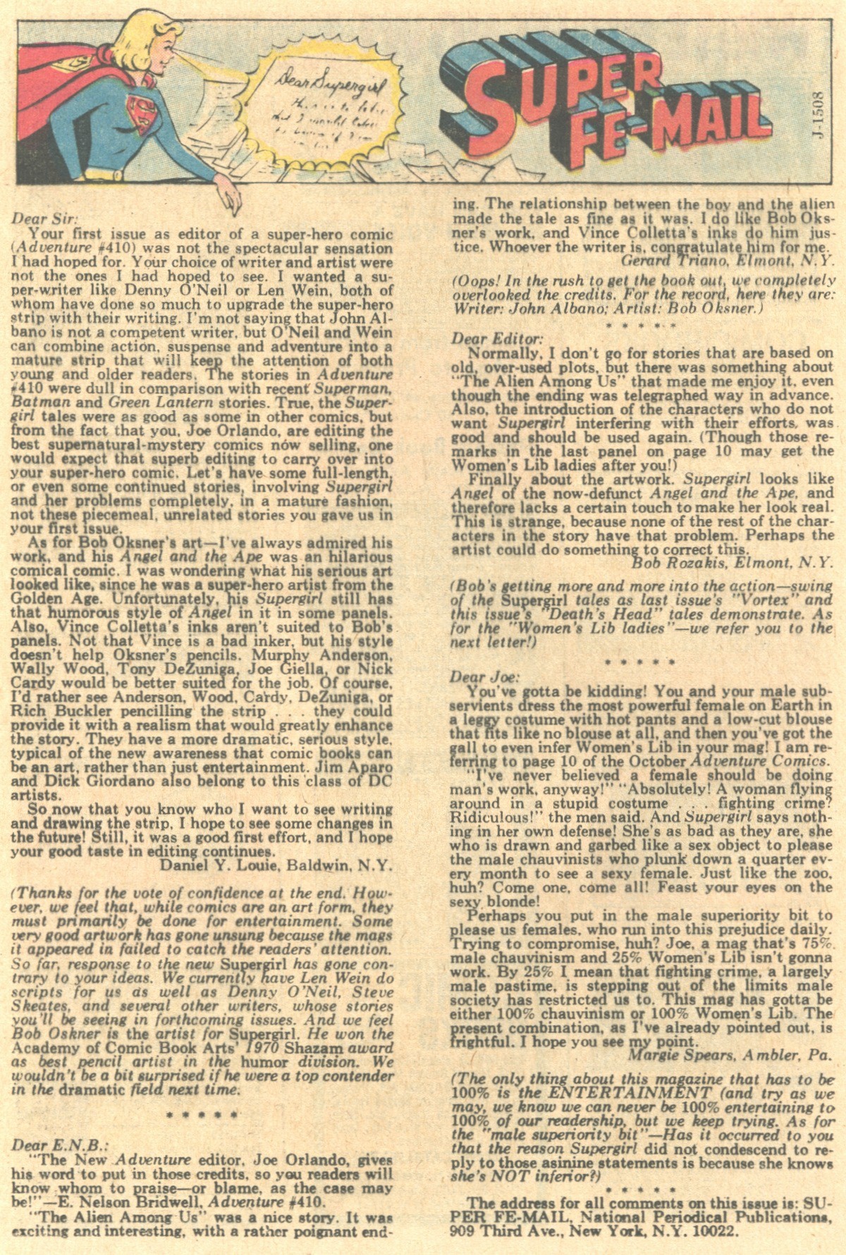 Read online Adventure Comics (1938) comic -  Issue #415 - 34