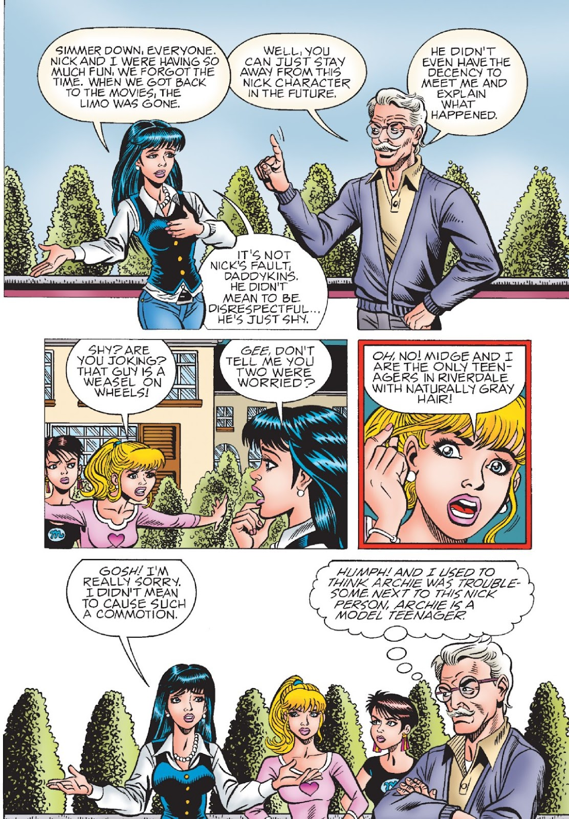 Read online Archie's New Look Series comic -  Issue #1 - 23