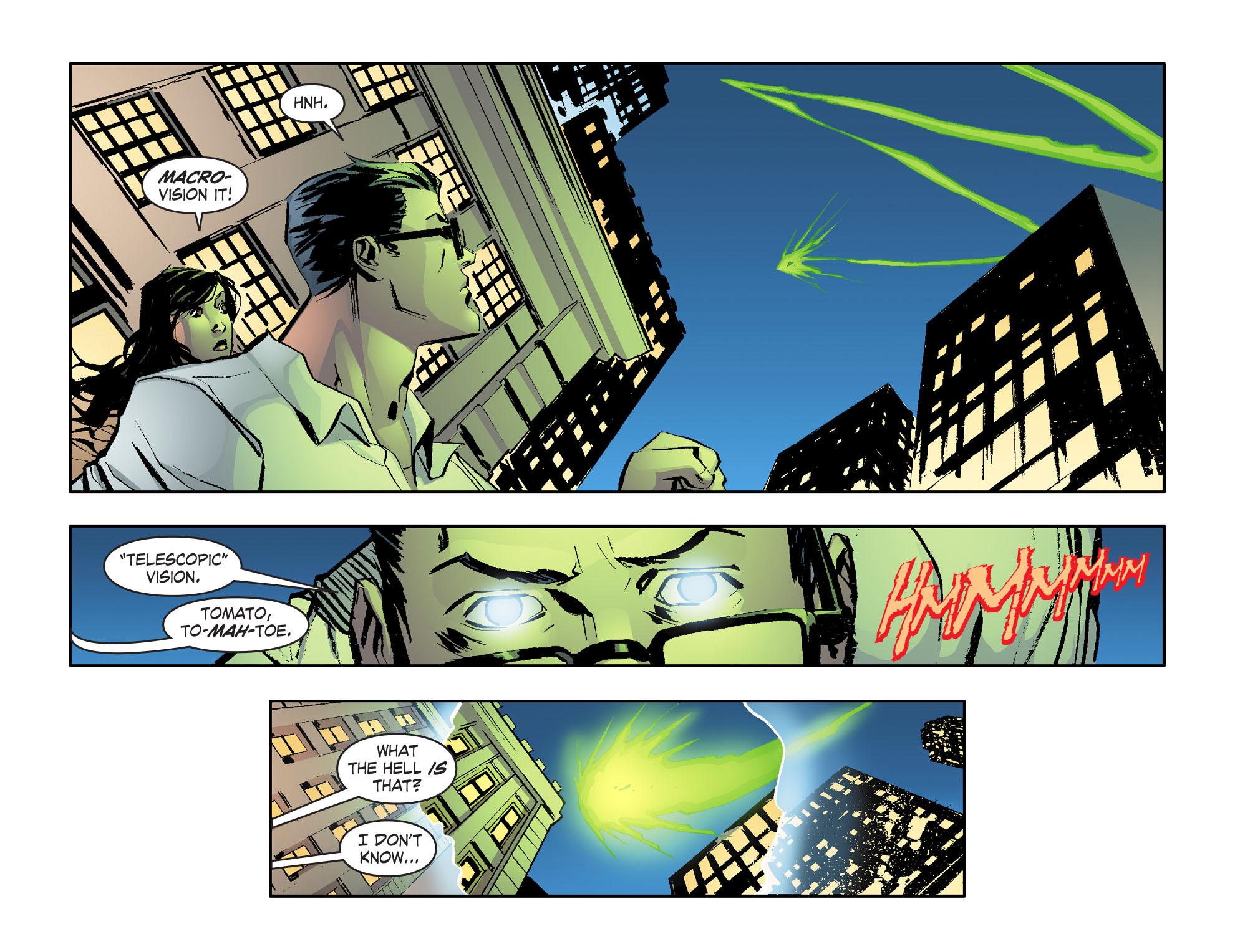 Read online Smallville: Lantern [I] comic -  Issue #1 - 17