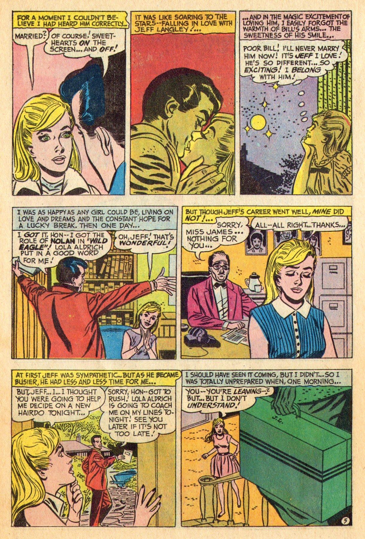 Read online Secret Hearts comic -  Issue #136 - 14