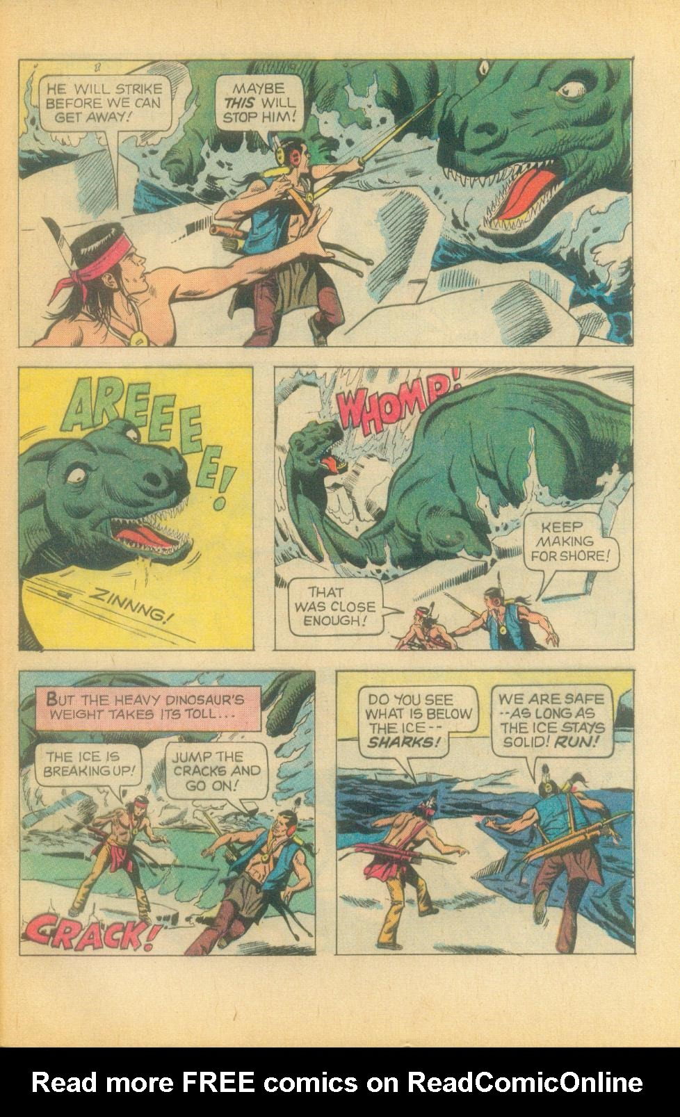 Read online Turok, Son of Stone comic -  Issue #81 - 29