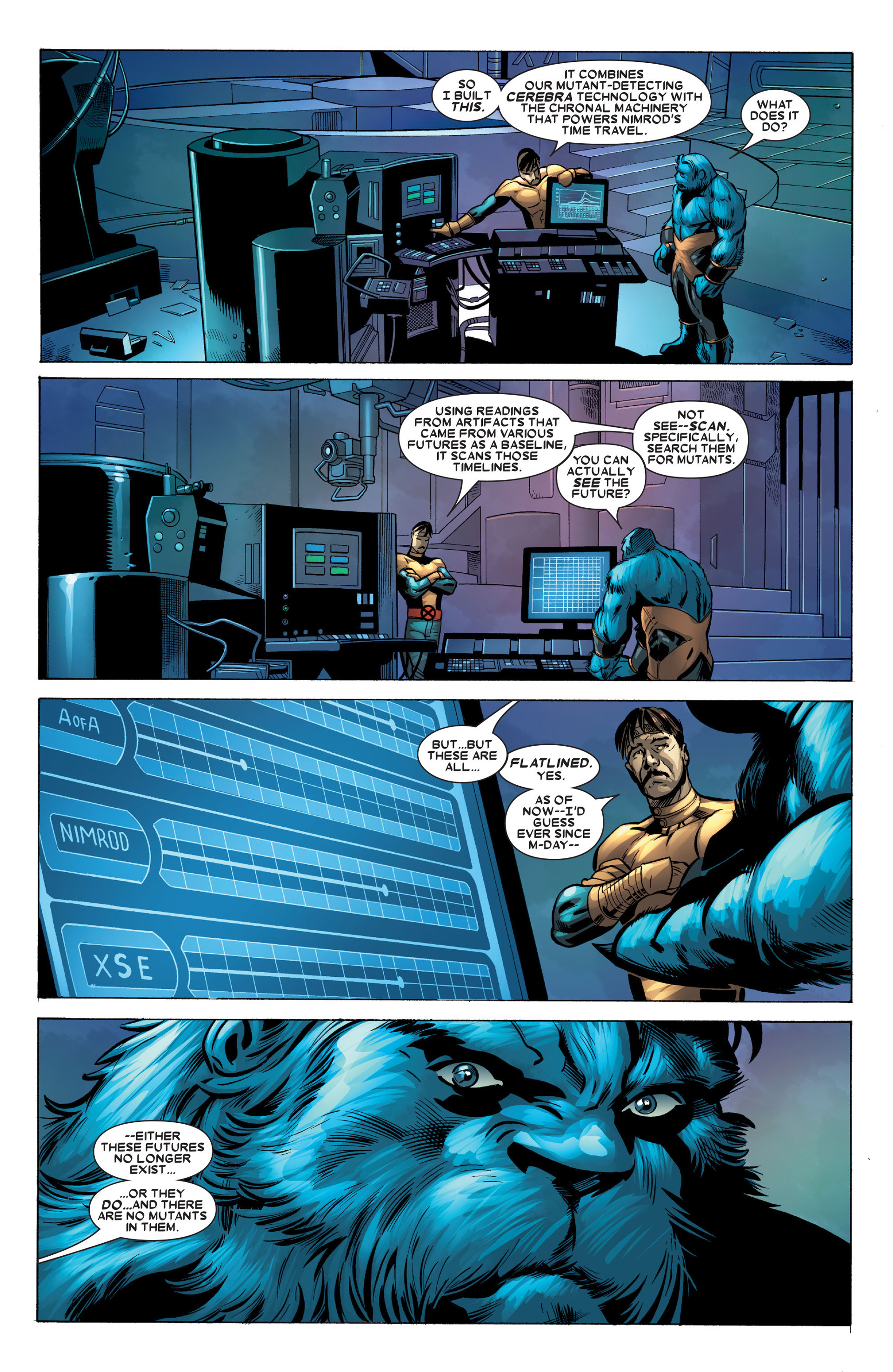 Read online X-Factor (2006) comic -  Issue #23 - 28