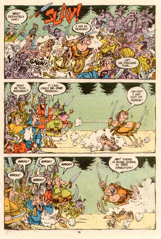 Read online Sergio Aragonés Groo the Wanderer comic -  Issue #63 - 18