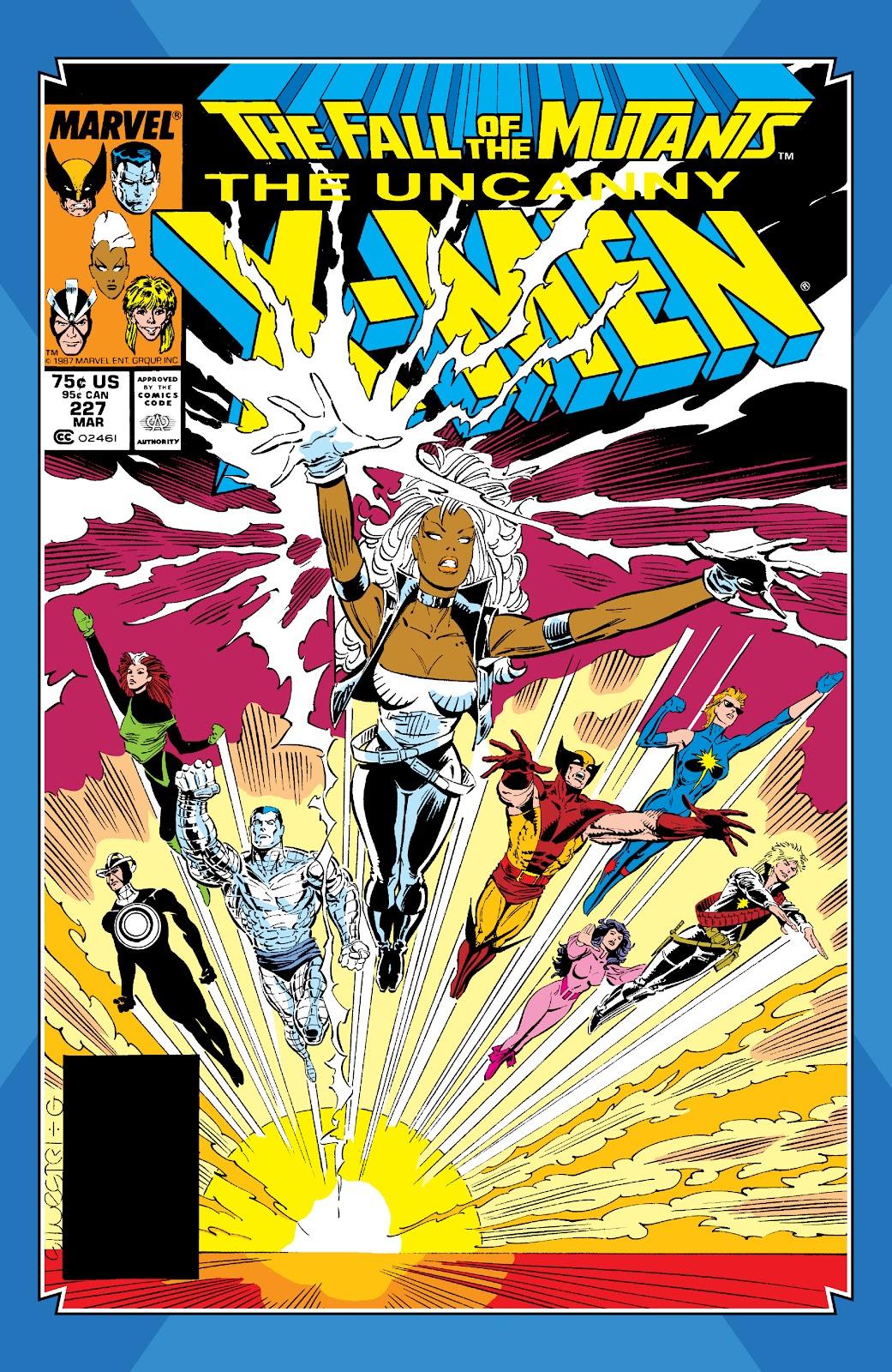 Read online X-Men Milestones: Fall of the Mutants comic -  Issue # TPB (Part 1) - 68