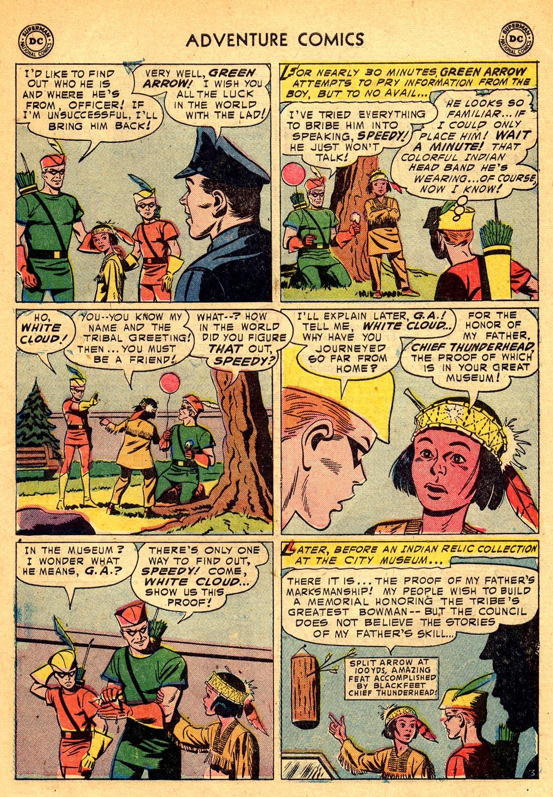 Read online Adventure Comics (1938) comic -  Issue #209 - 27