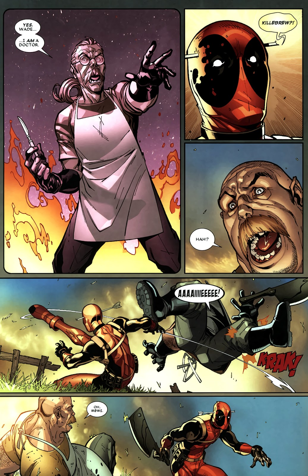Read online Deadpool (2008) comic -  Issue #11 - 9