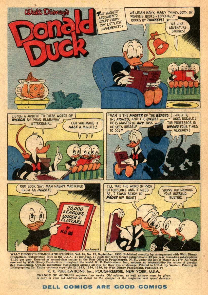 Walt Disney's Comics and Stories issue 192 - Page 3