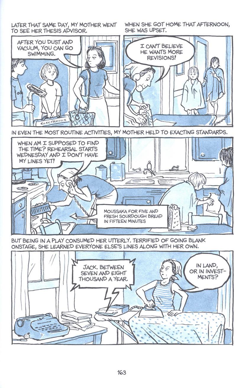 Read online Fun Home: A Family Tragicomic comic -  Issue # TPB - 169
