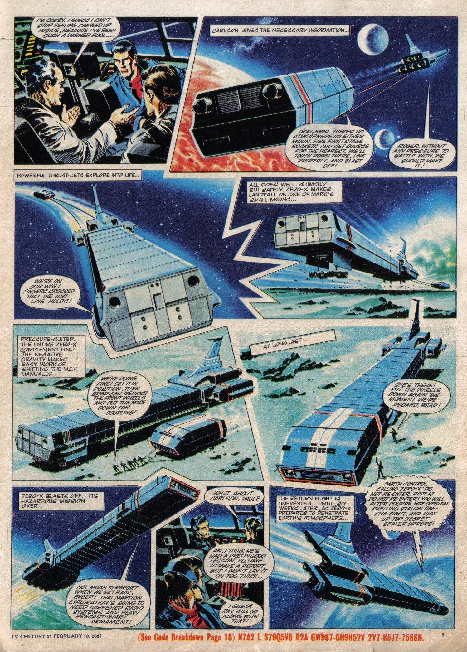 Read online TV Century 21 (TV 21) comic -  Issue #109 - 5