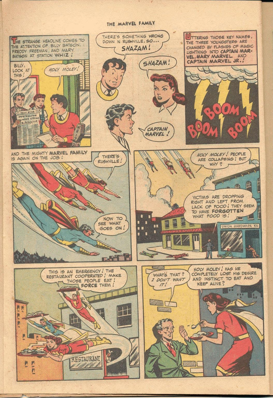 The Marvel Family issue 38 - Page 6