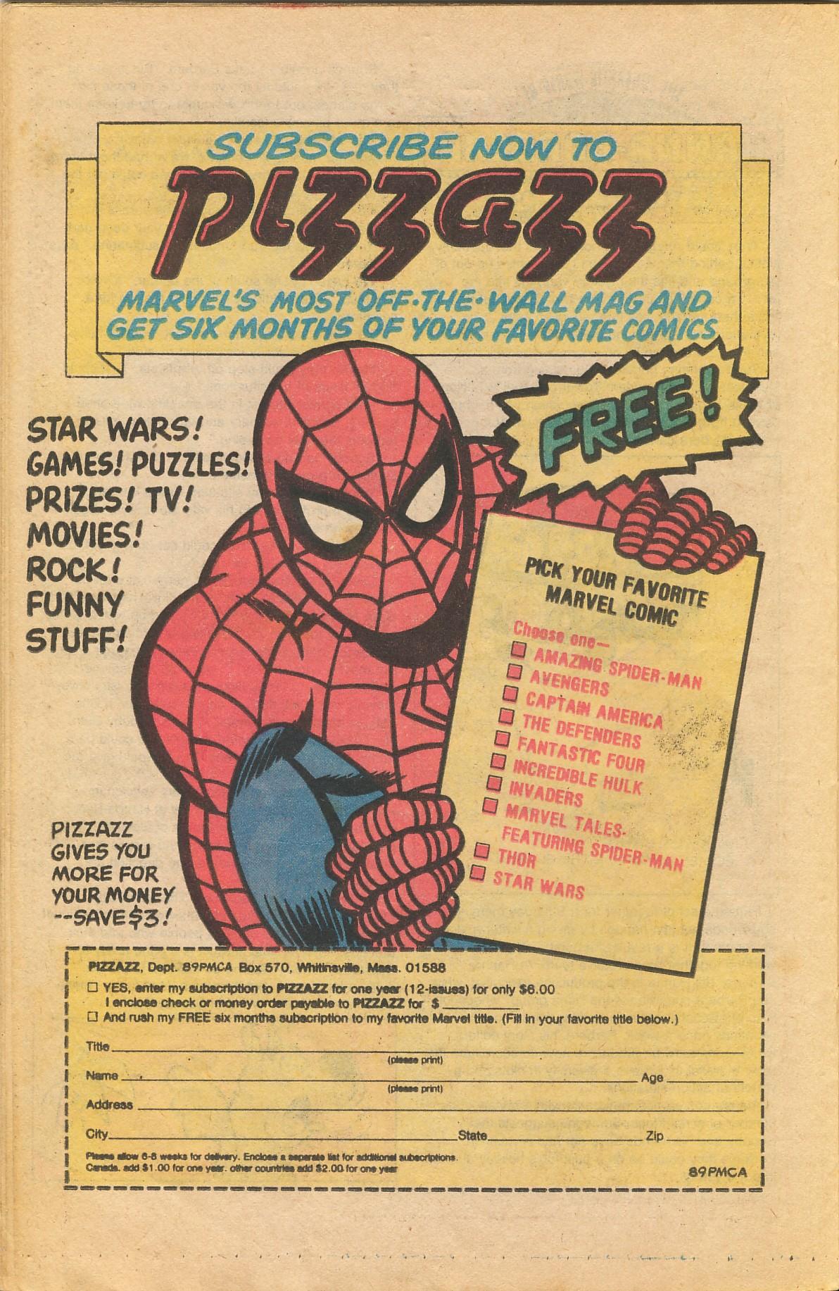 Read online TV Stars comic -  Issue #4 - 22