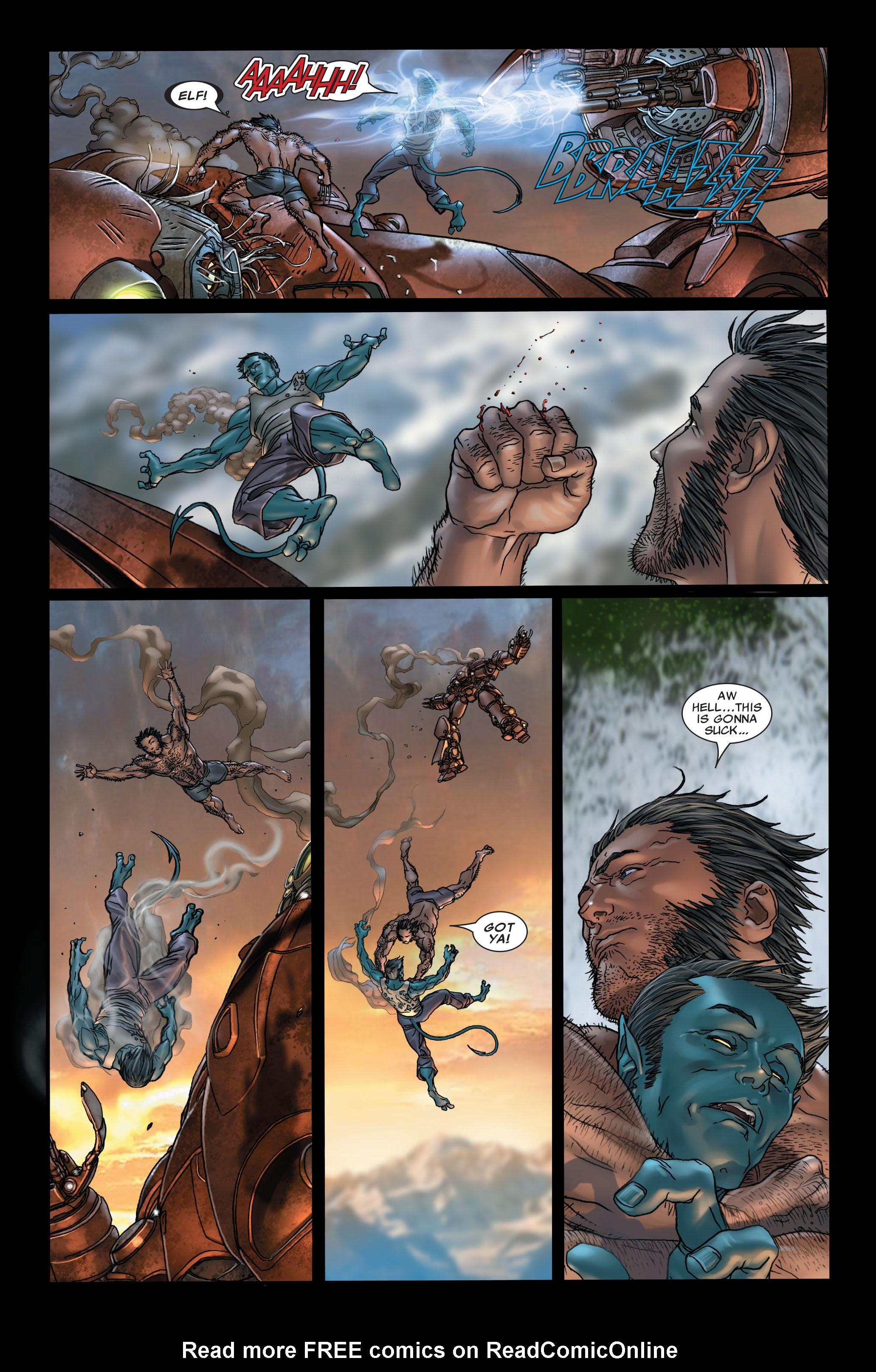 Read online Uncanny X-Men (1963) comic -  Issue #497 - 9