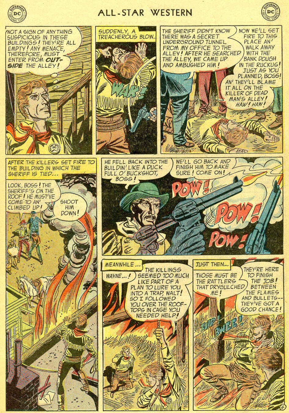 Read online All-Star Western (1951) comic -  Issue #75 - 6