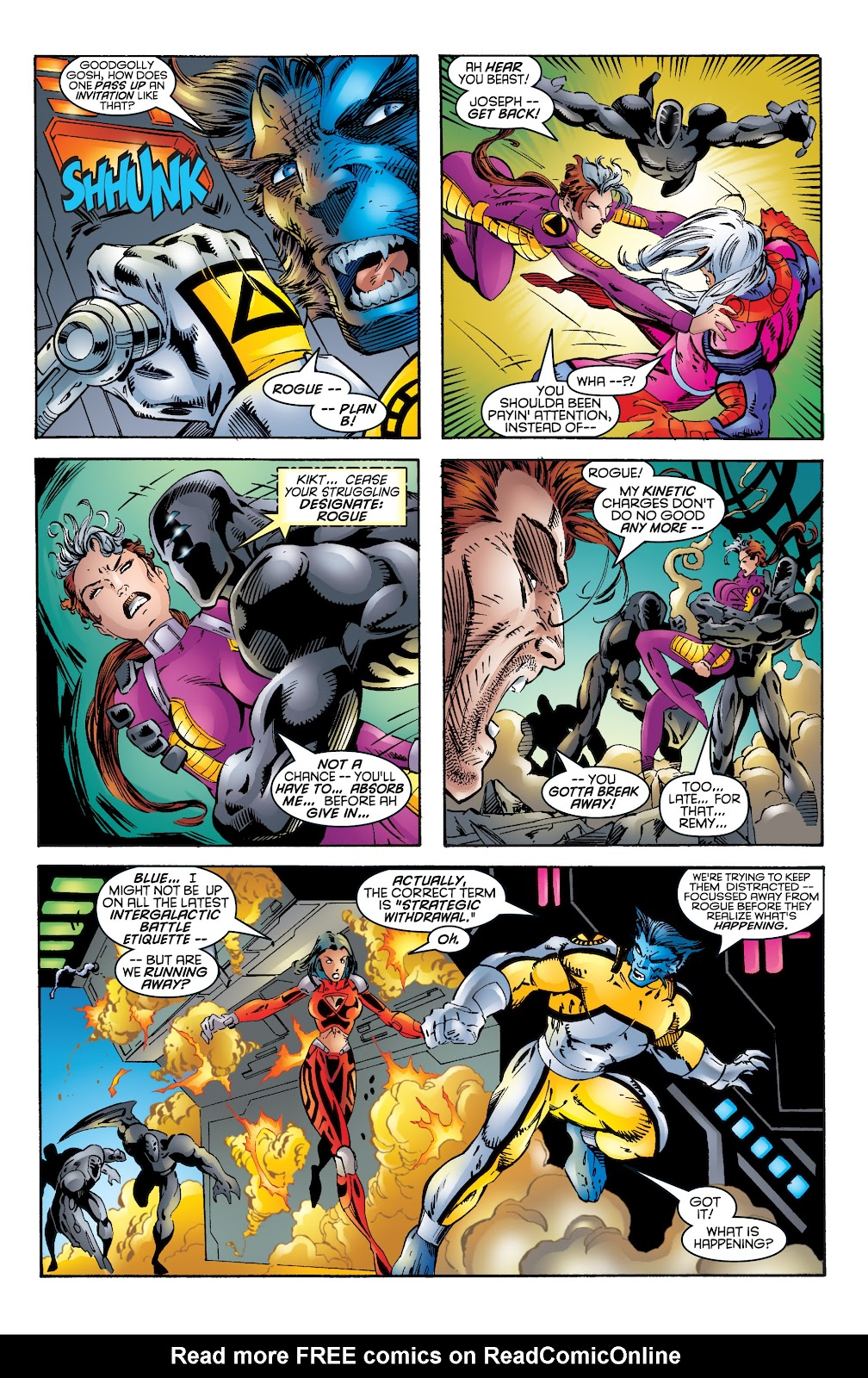 Uncanny X-Men (1963) issue 344 - Page 19