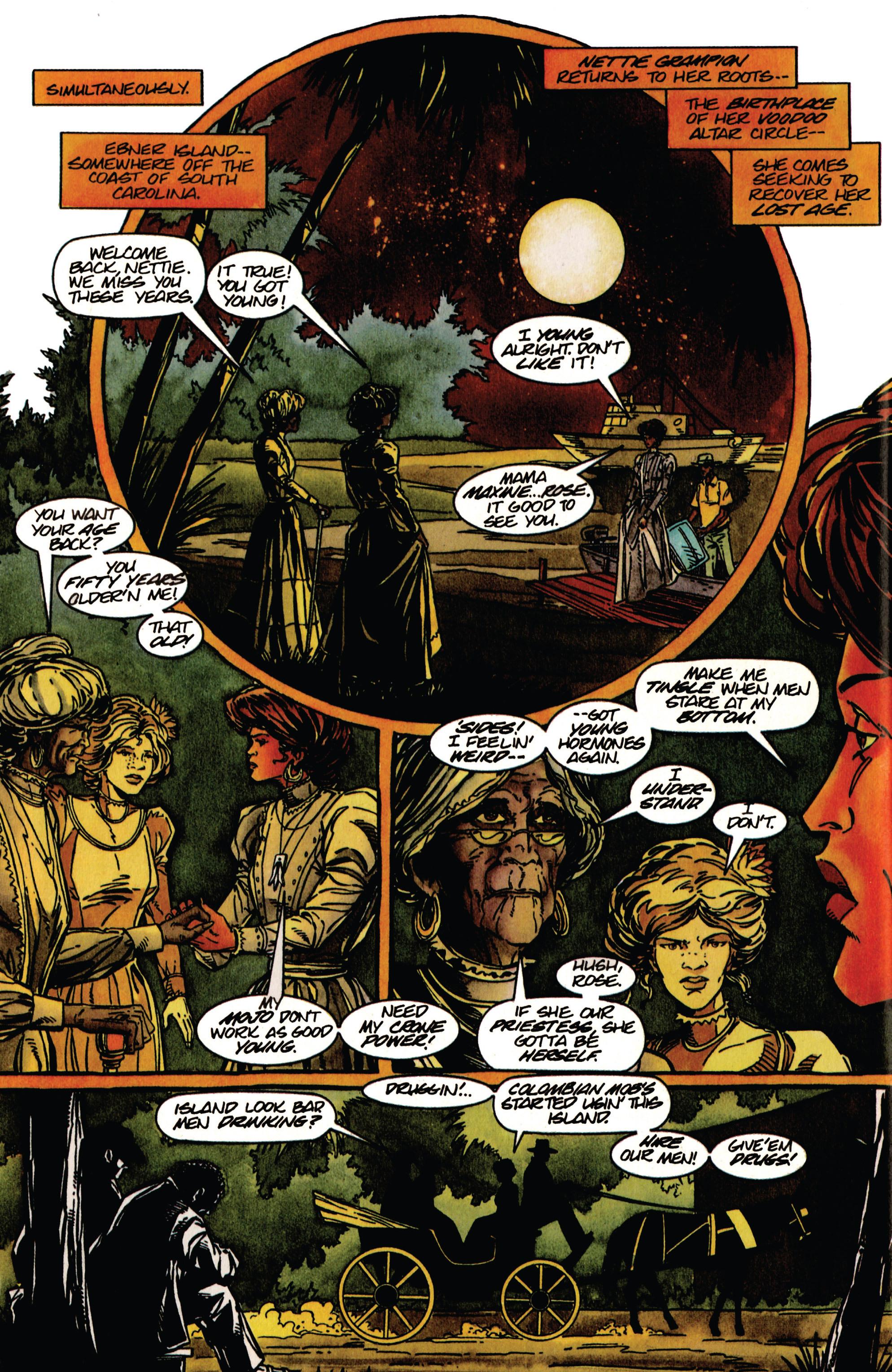 Read online Shadowman (1992) comic -  Issue #33 - 7