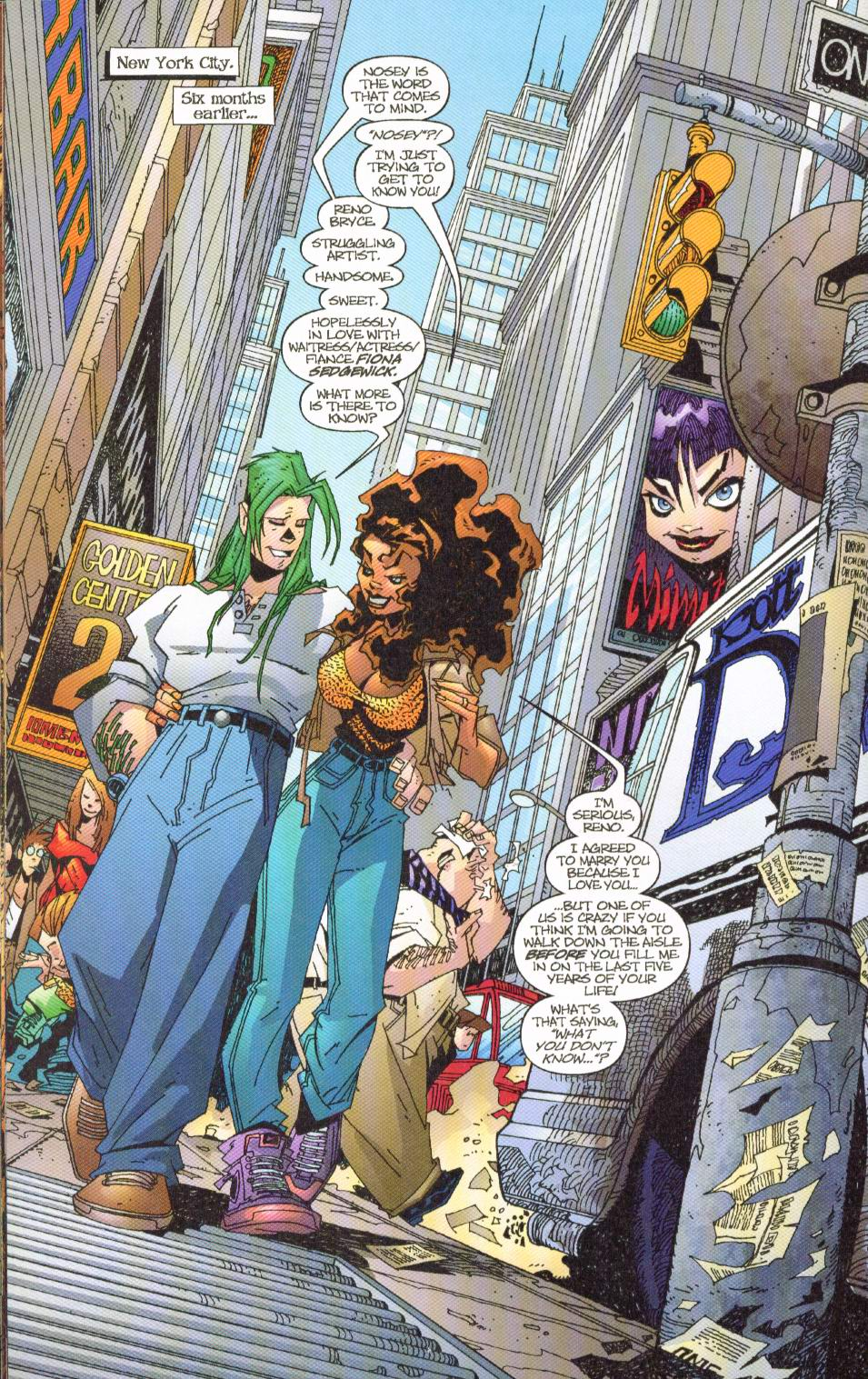 Wildcats (1999) Issue #7 #8 - English 13