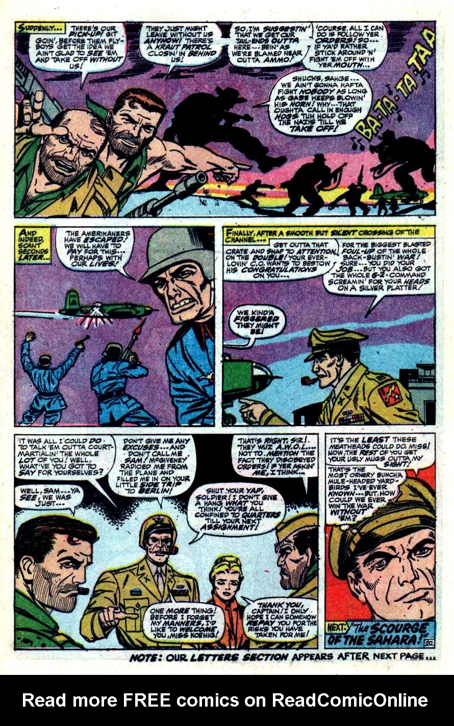 Read online Sgt. Fury comic -  Issue #42 - 28
