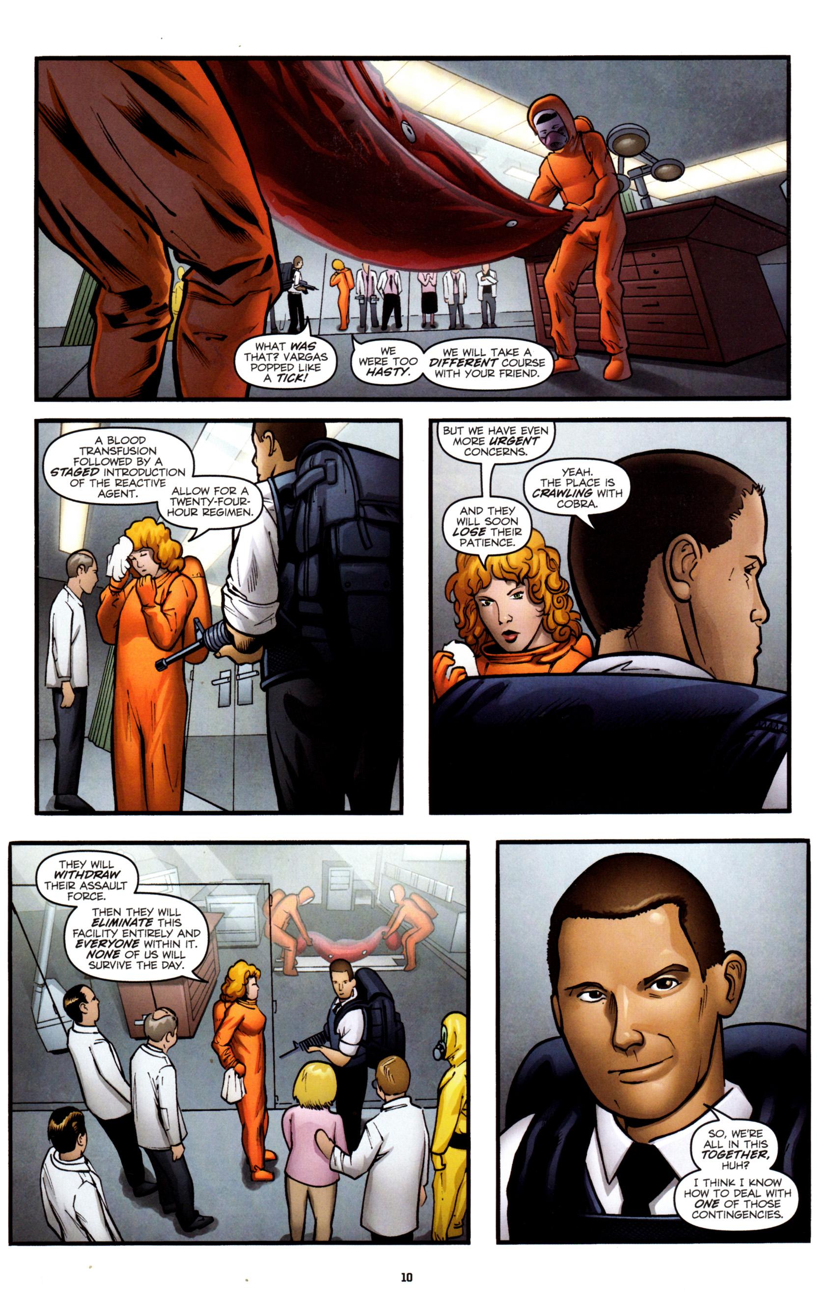 Read online G.I. Joe: Snake Eyes comic -  Issue #8 - 13