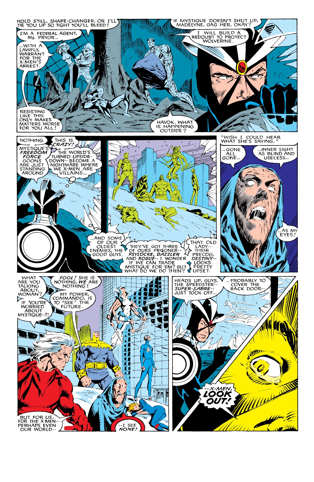 Read online X-Men Milestones: Fall of the Mutants comic -  Issue # TPB (Part 1) - 29