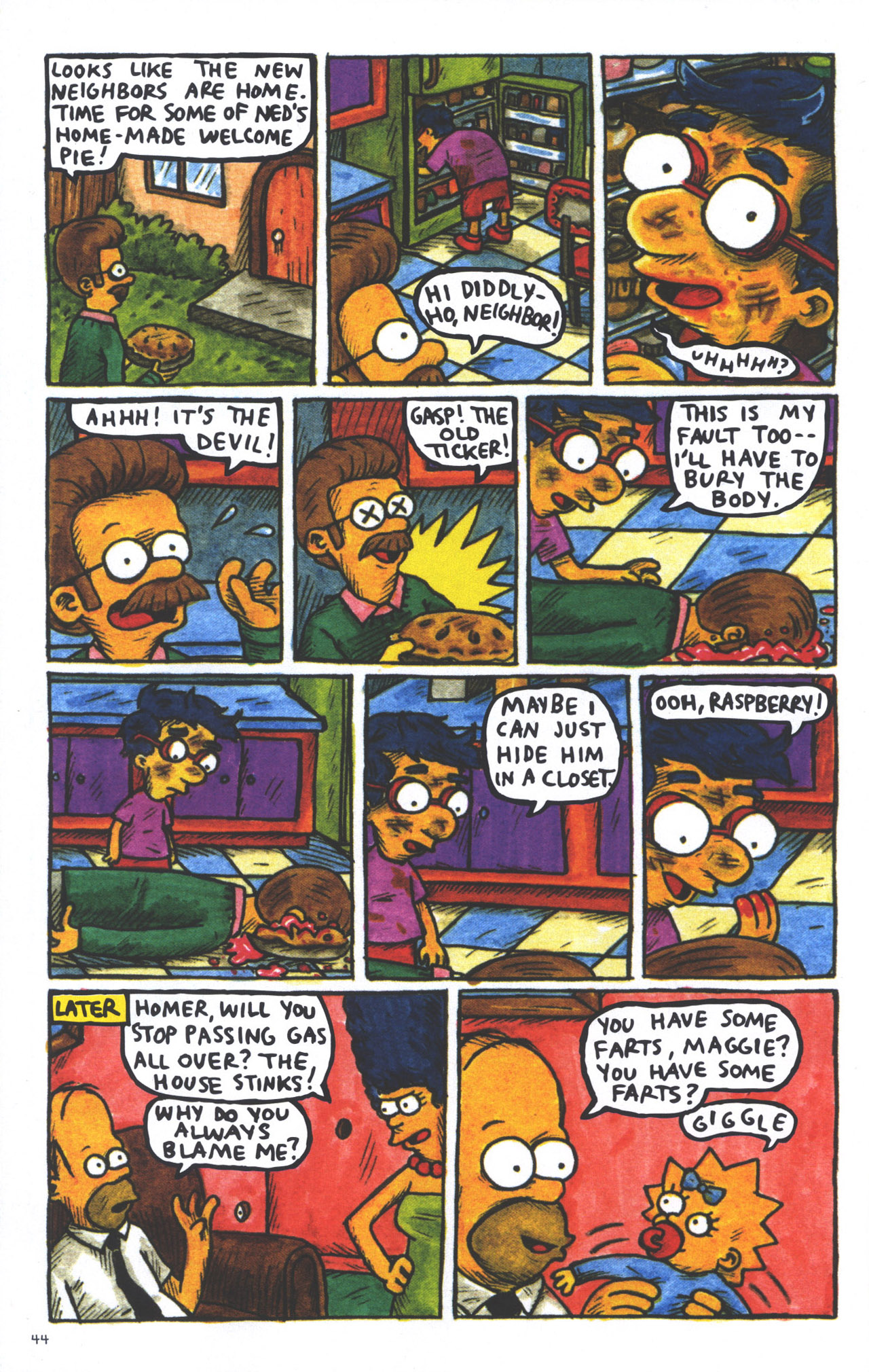 Read online Treehouse of Horror comic -  Issue #15 - 47