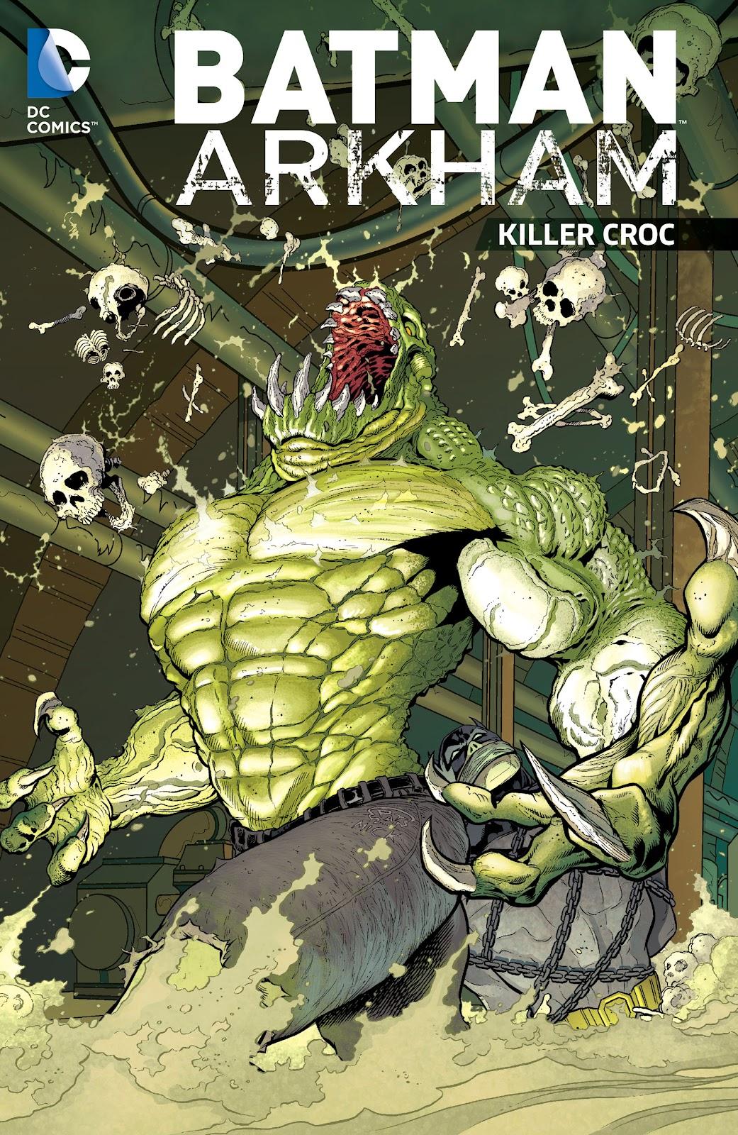 Batman: Arkham: Killer Croc Full Page 1
