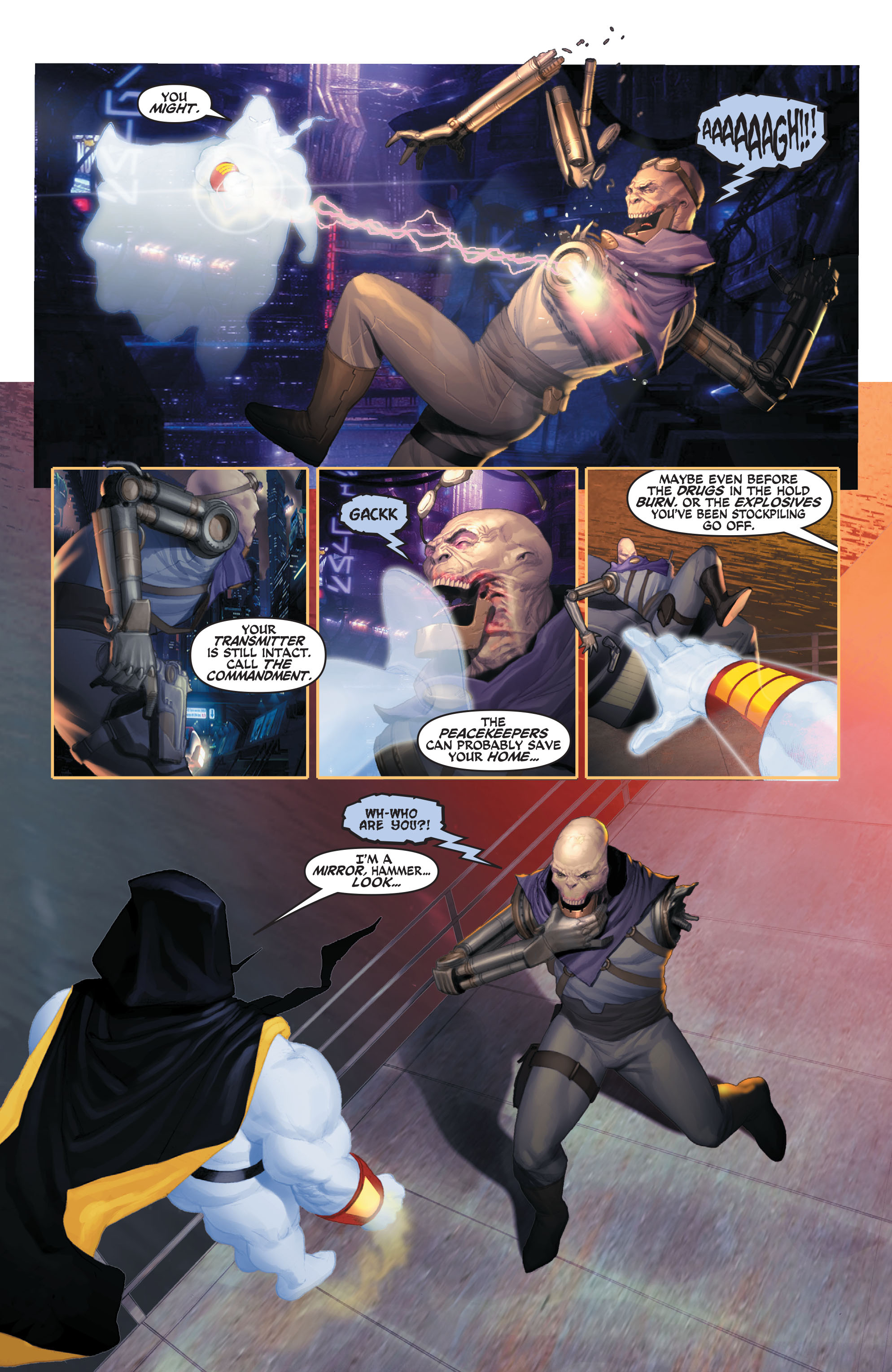 Read online Space Ghost (2016) comic -  Issue # Full - 51