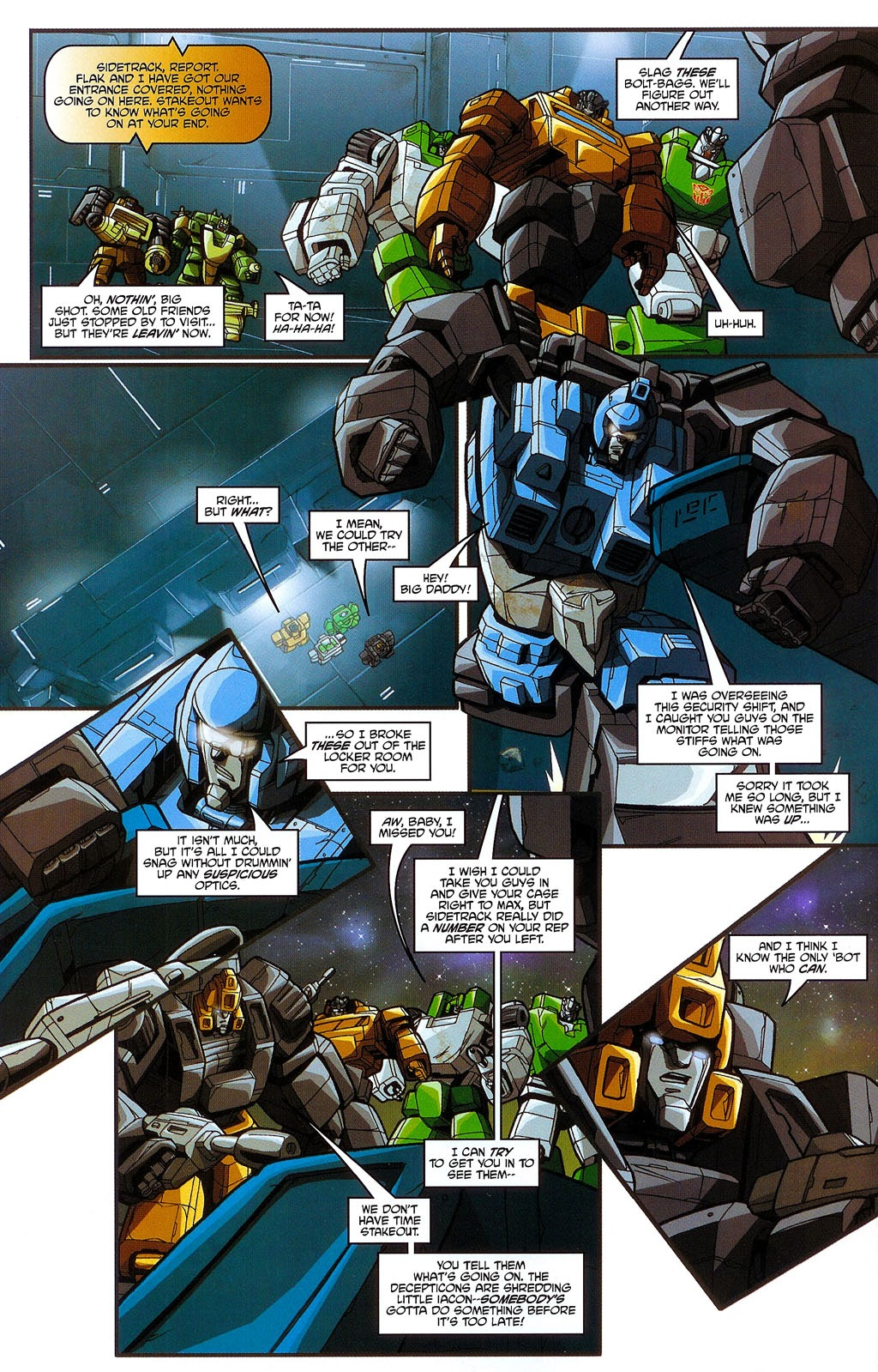 Read online Transformers: Micromasters comic -  Issue #3 - 16