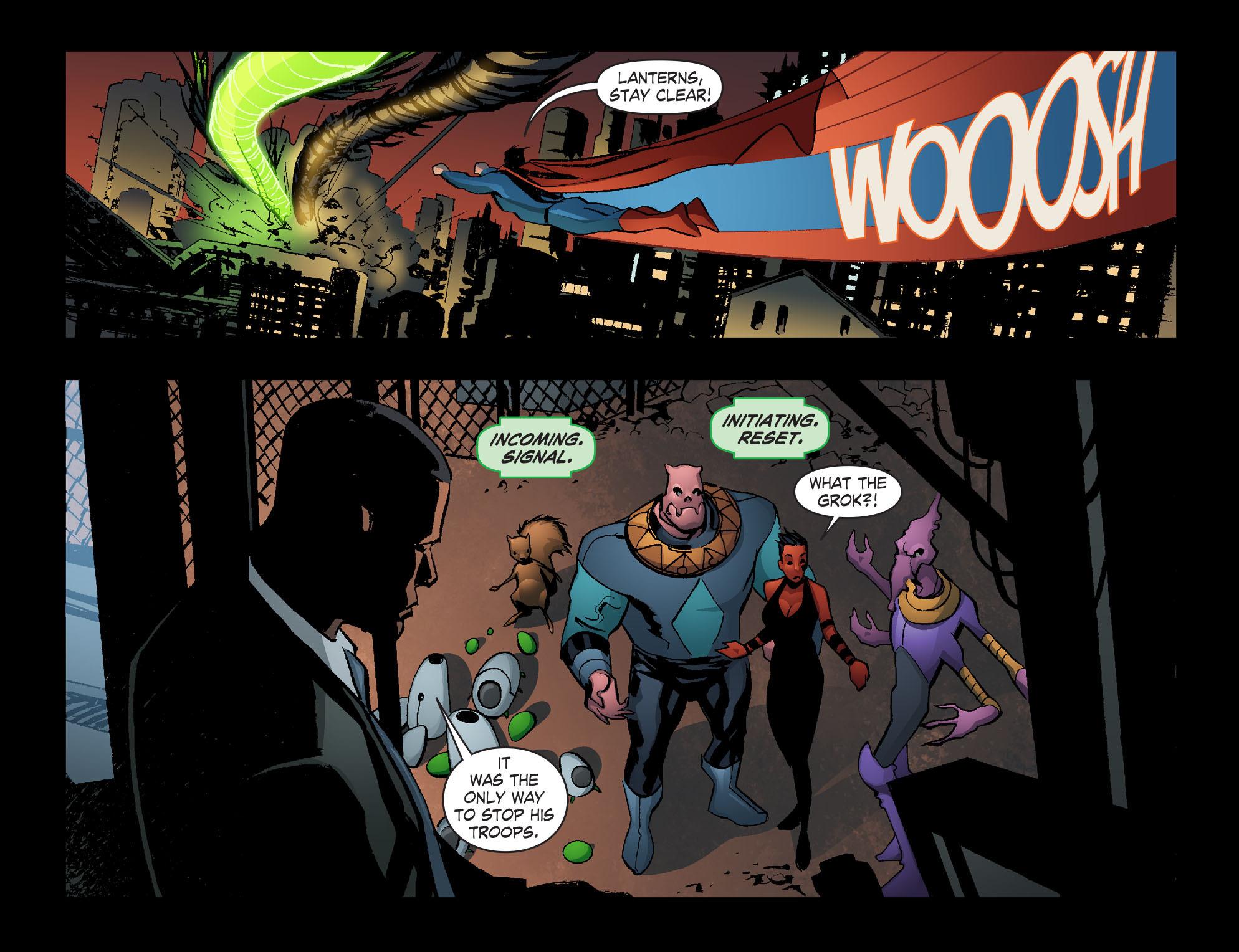 Read online Smallville: Lantern [I] comic -  Issue #12 - 10