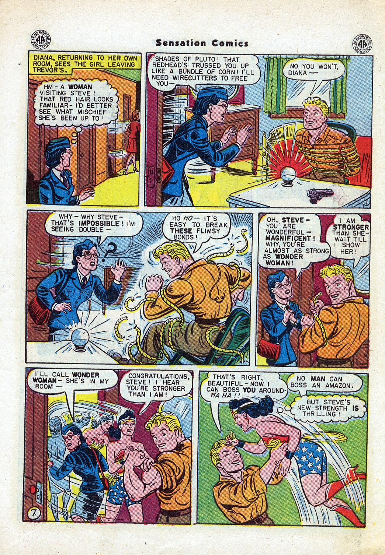 Read online Sensation (Mystery) Comics comic -  Issue #46 - 9