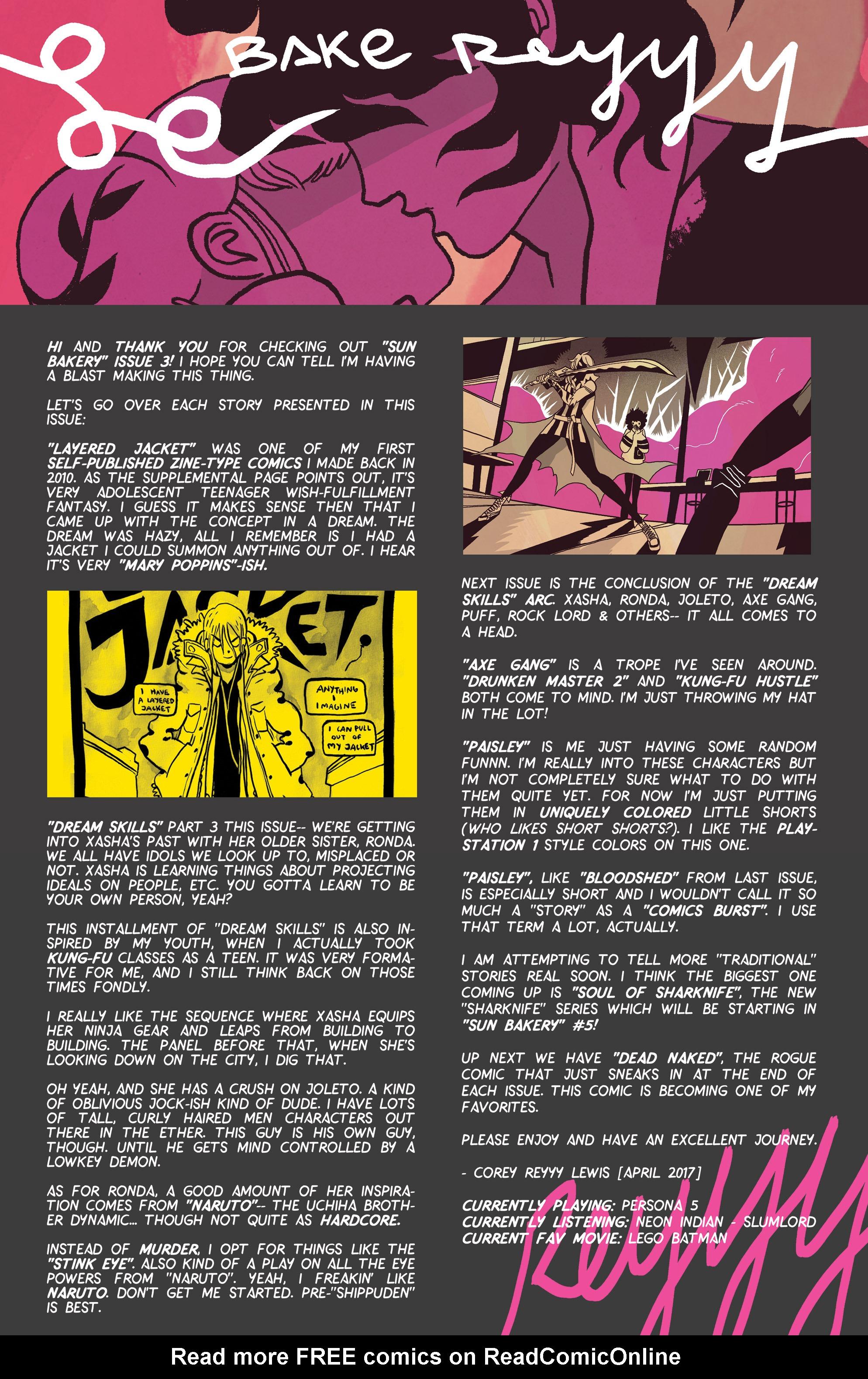 Read online Sun Bakery comic -  Issue #3 - 43