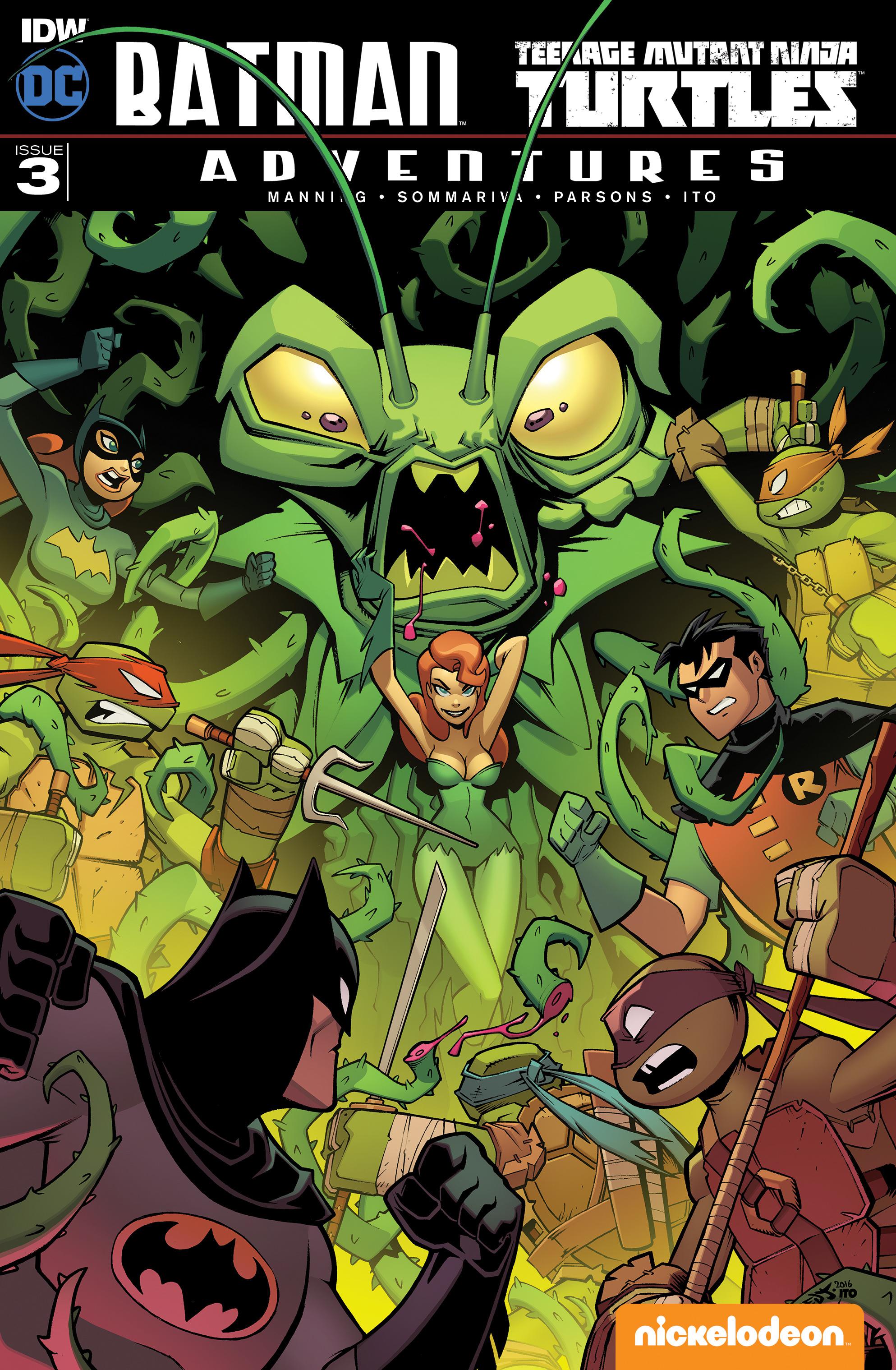 Batman/Teenage Mutant Ninja Turtles Adventure 3 Page 1