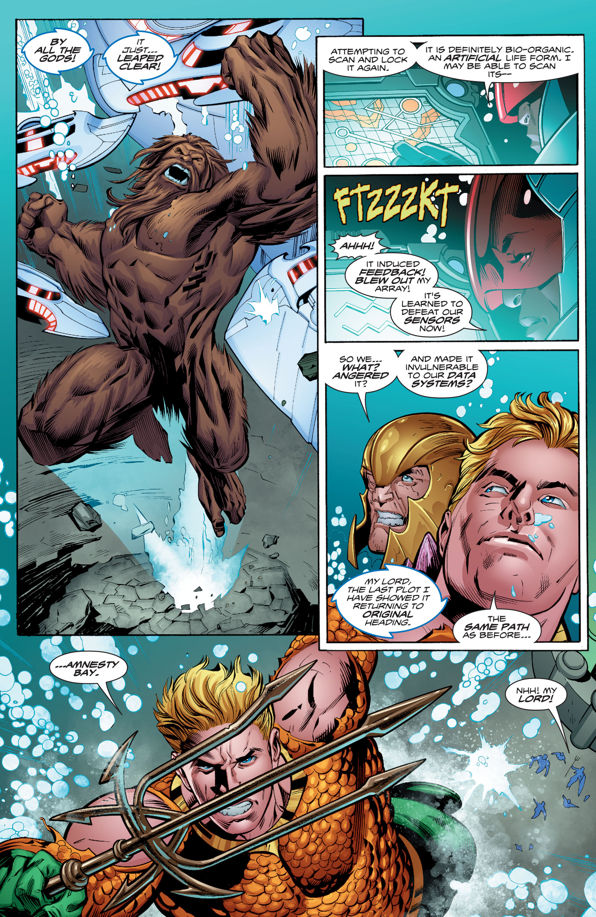 Read online Aquaman (2016) comic -  Issue #9 - 6