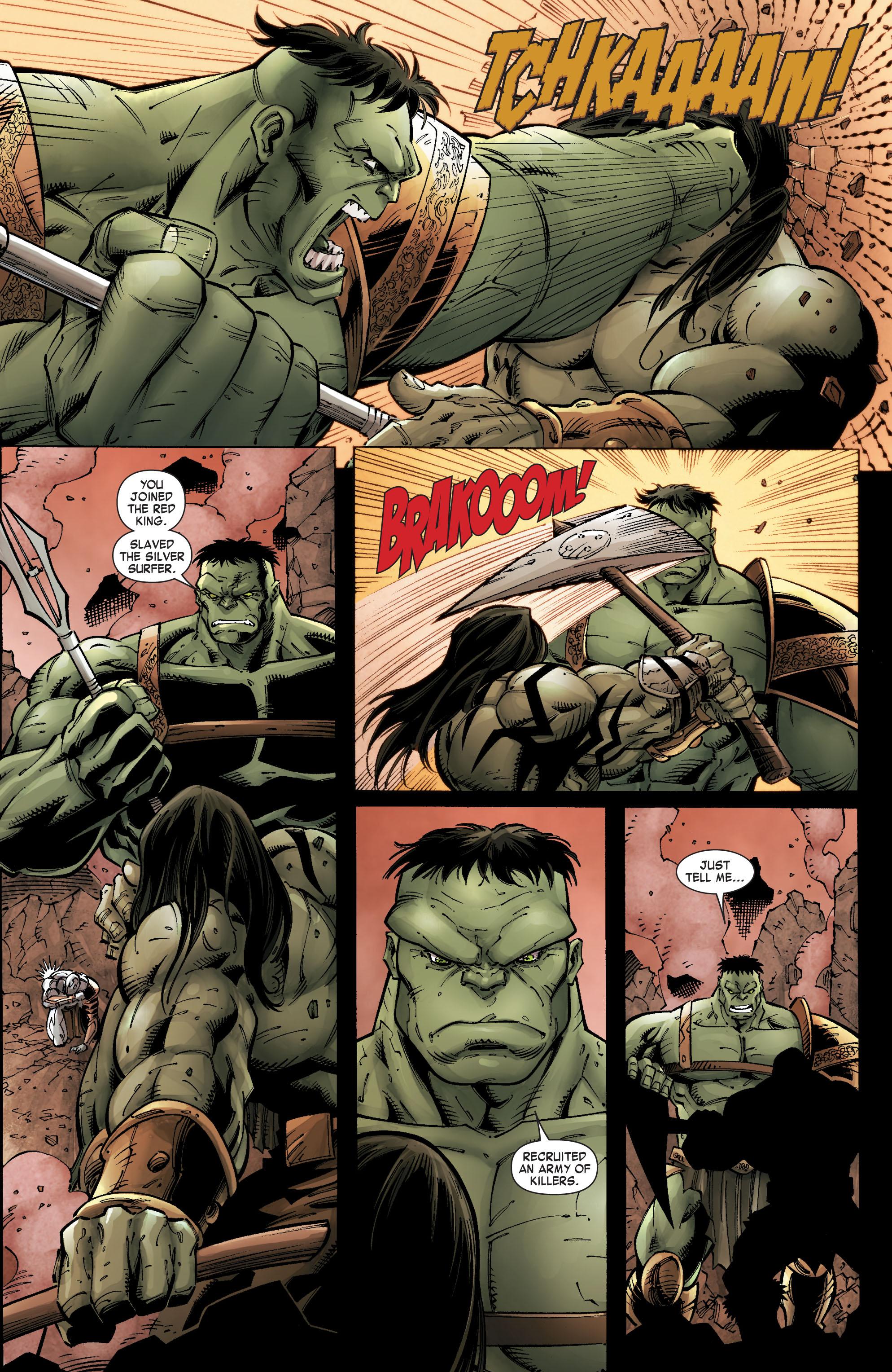 Read online Skaar: Son of Hulk comic -  Issue #9 - 17