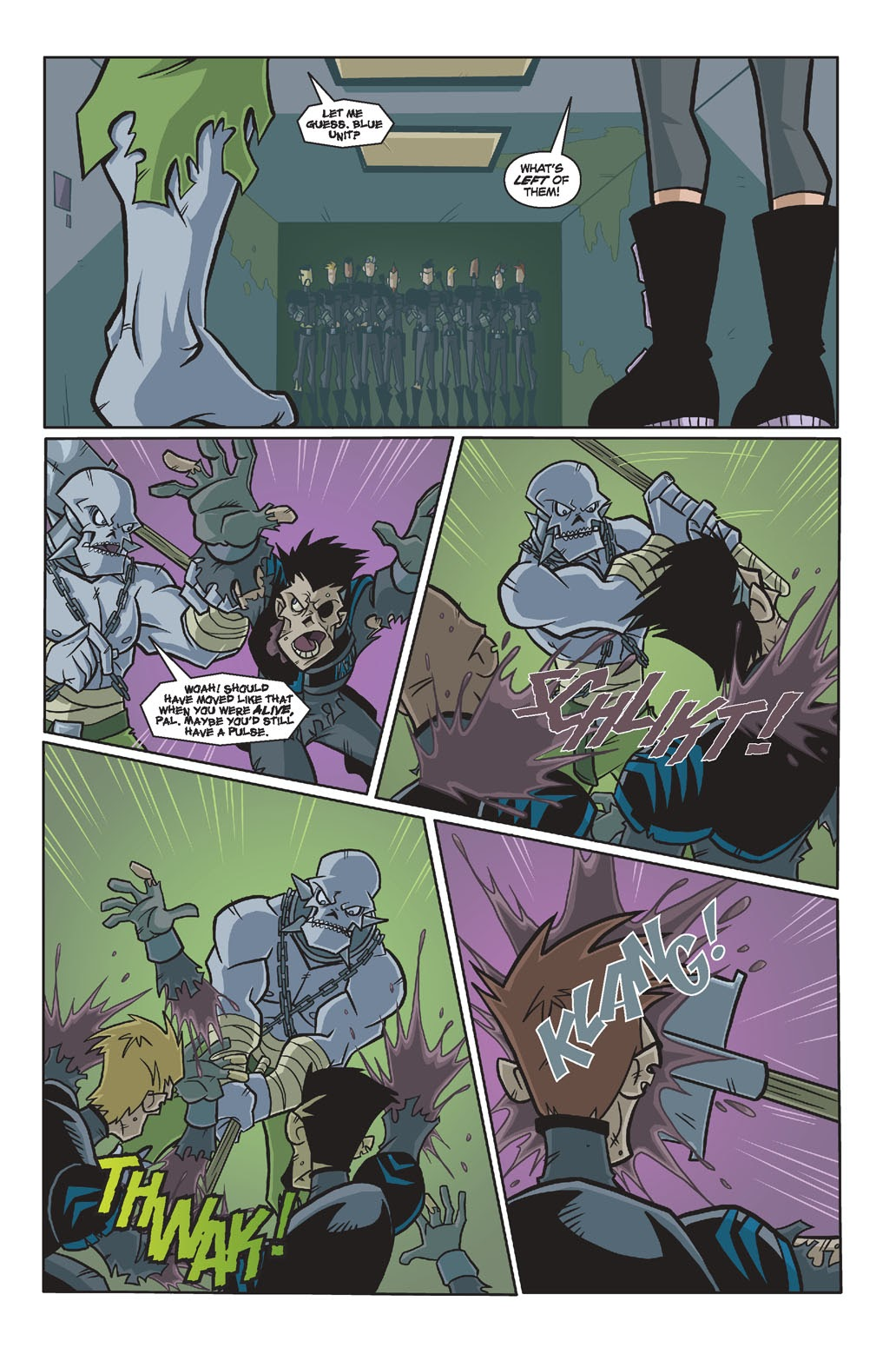 Read online Xombie Reanimated comic -  Issue #4 - 12