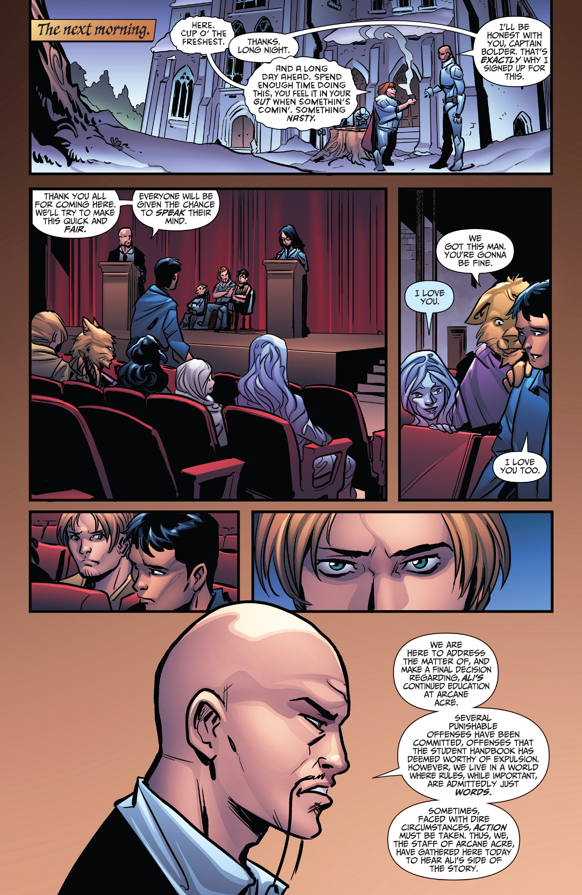 Read online Grimm Fairy Tales: Arcane Acre comic -  Issue # TPB 4 - 65