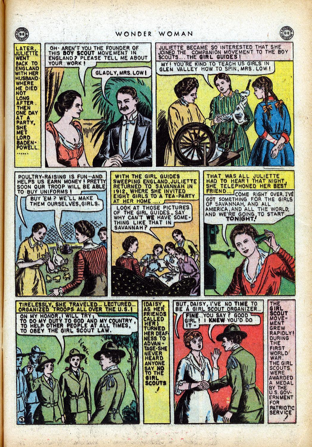 Read online Wonder Woman (1942) comic -  Issue #10 - 20