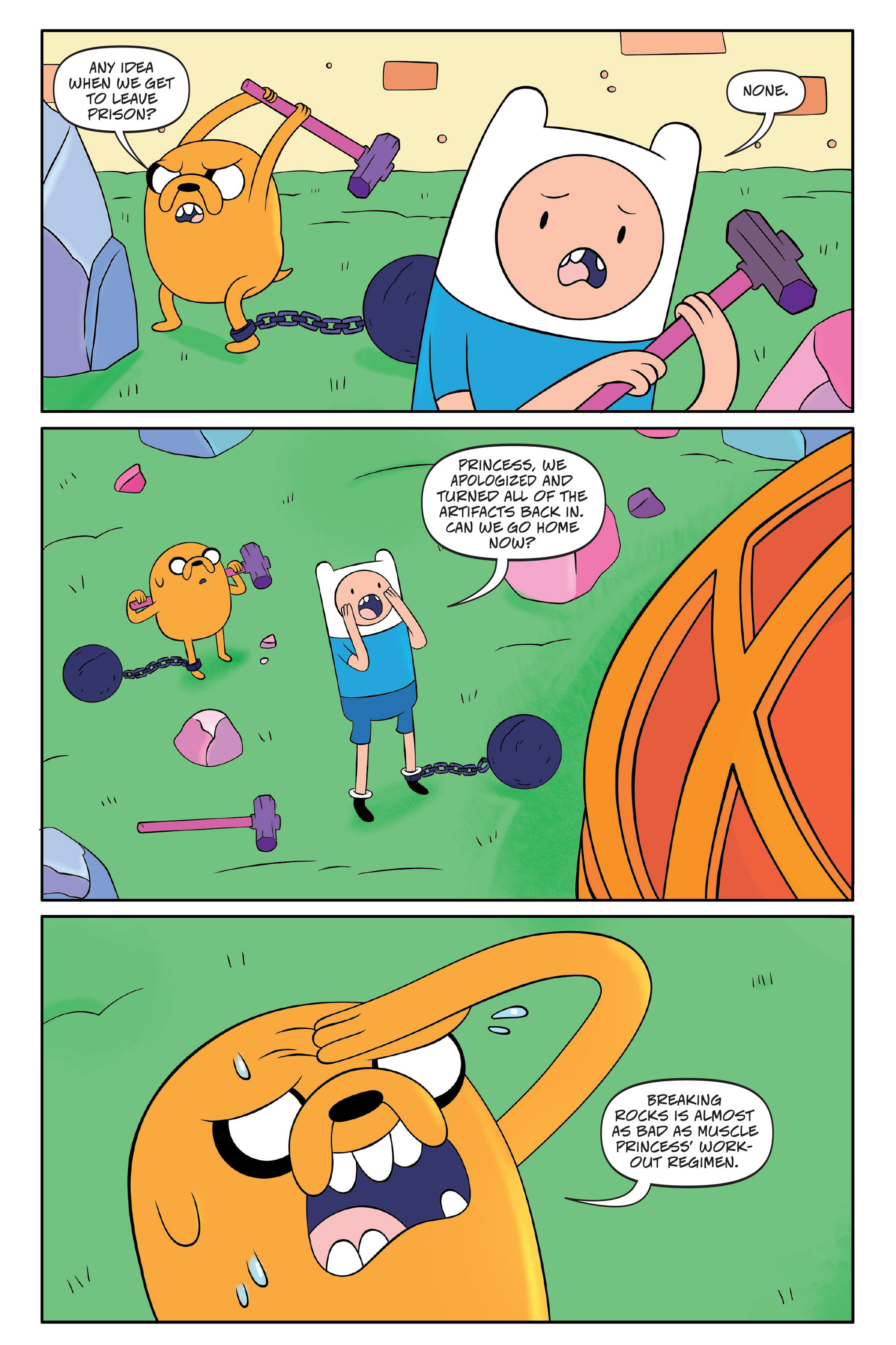 Read online Adventure Time comic -  Issue #Adventure Time _TPB 7 - 137