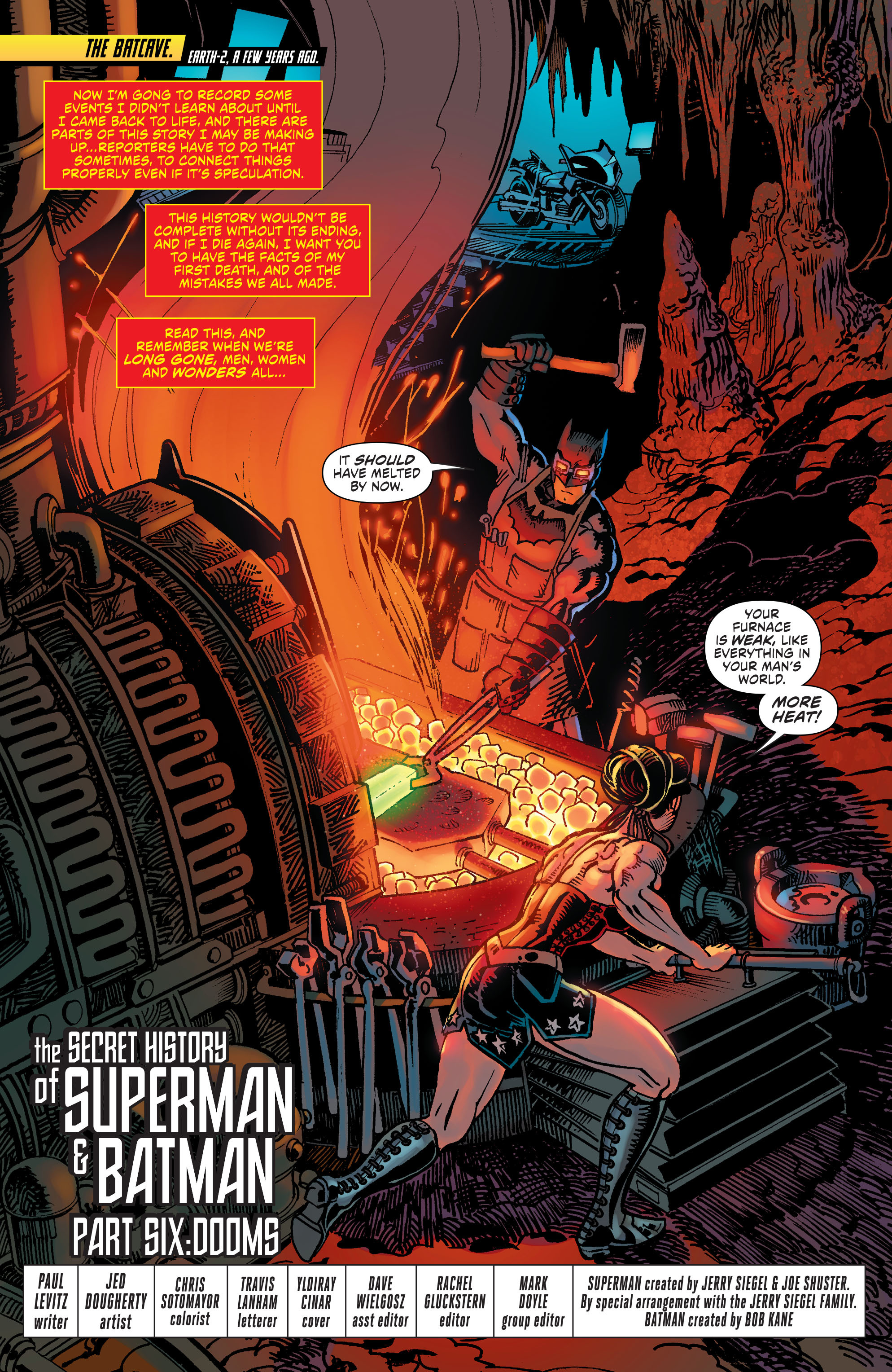 Read online Worlds' Finest comic -  Issue #32 - 2