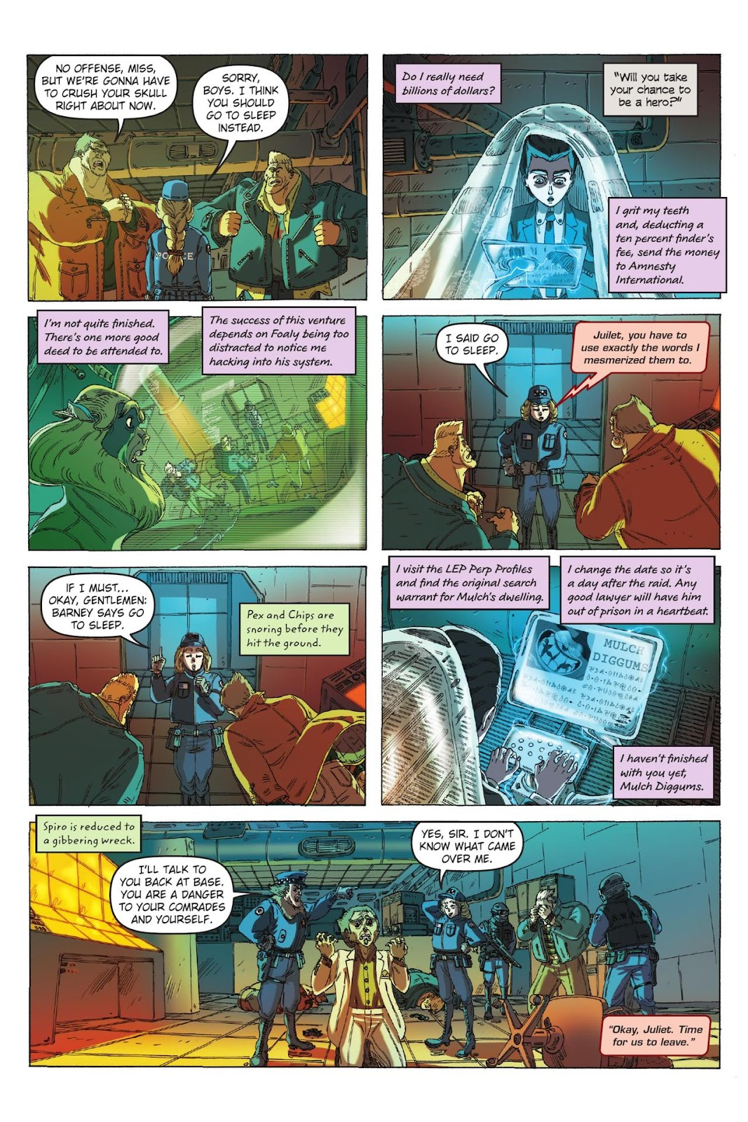 Artemis Fowl: The Eternity Code issue TPB - Page 102