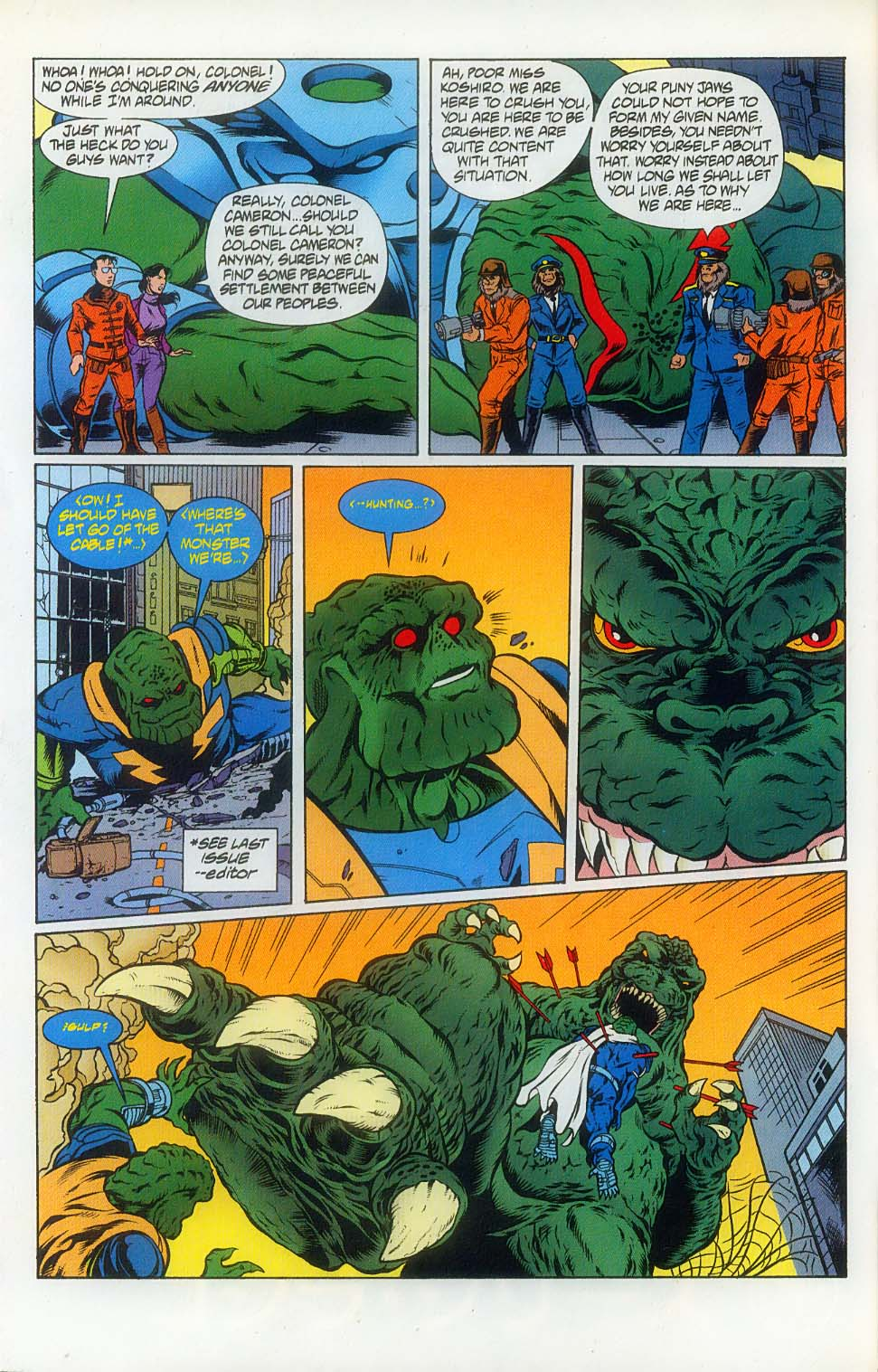 Godzilla (1995) Issue #8 #9 - English 4
