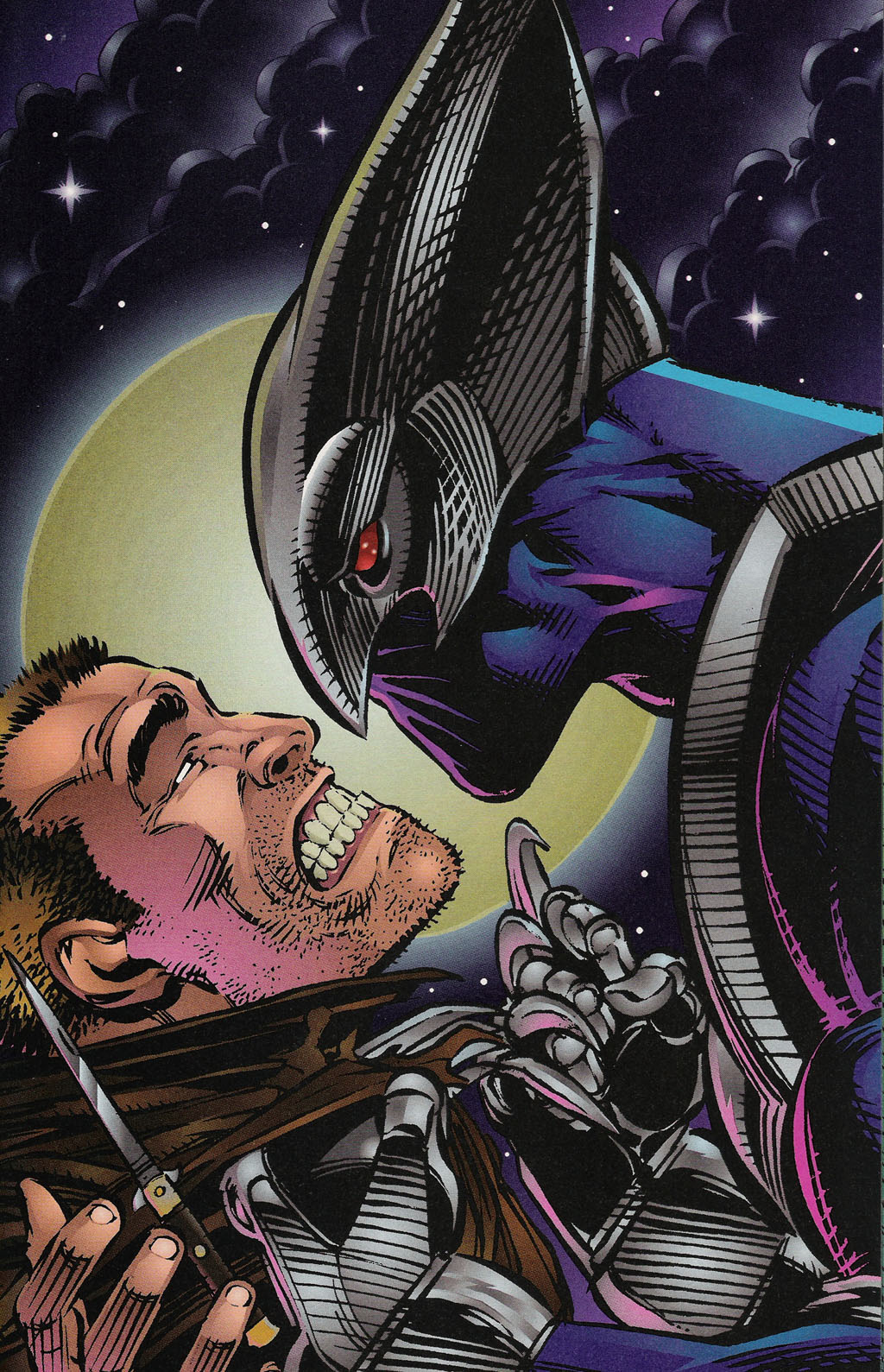 Read online ShadowHawk Gallery comic -  Issue # Full - 22