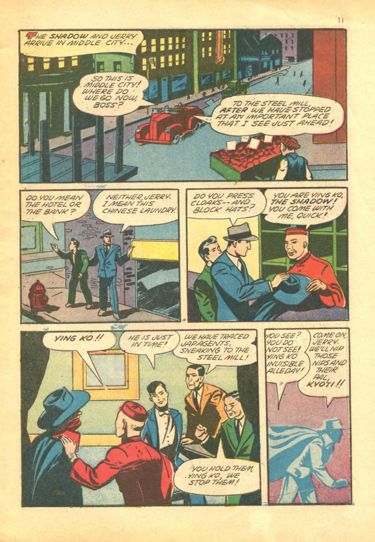 Read online Shadow Comics comic -  Issue #24 - 11